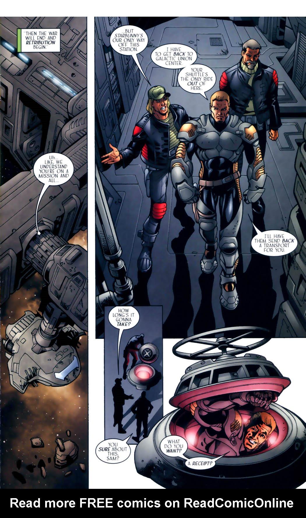 Read online Sigil (2000) comic -  Issue #30 - 14