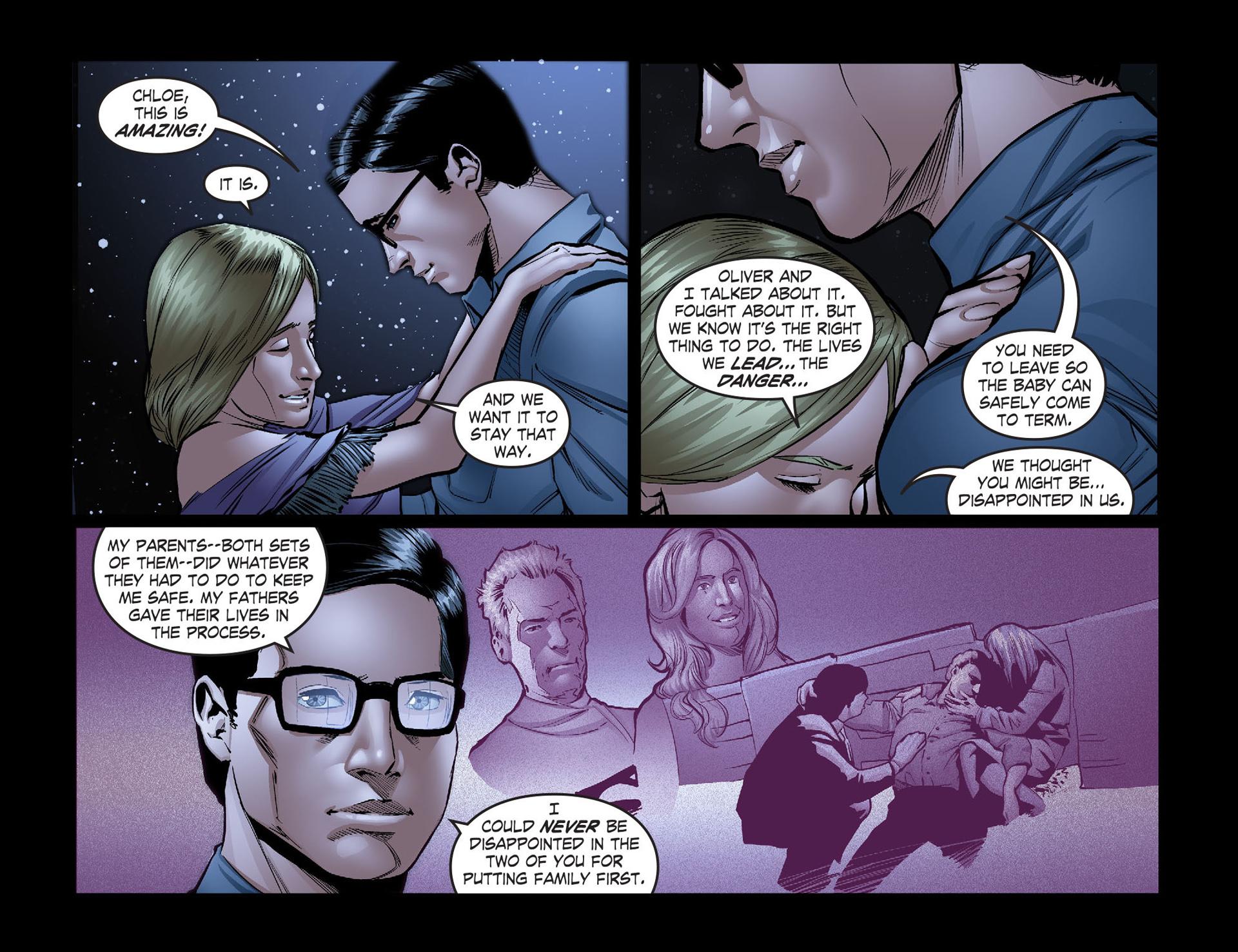 Read online Smallville: Season 11 comic -  Issue #40 - 21