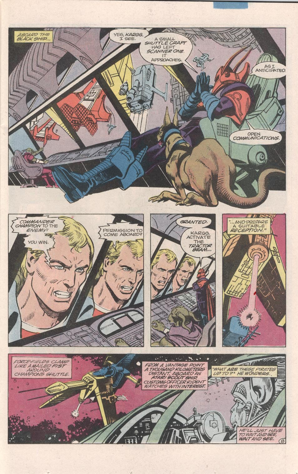 Read online Atari Force (1984) comic -  Issue #7 - 9