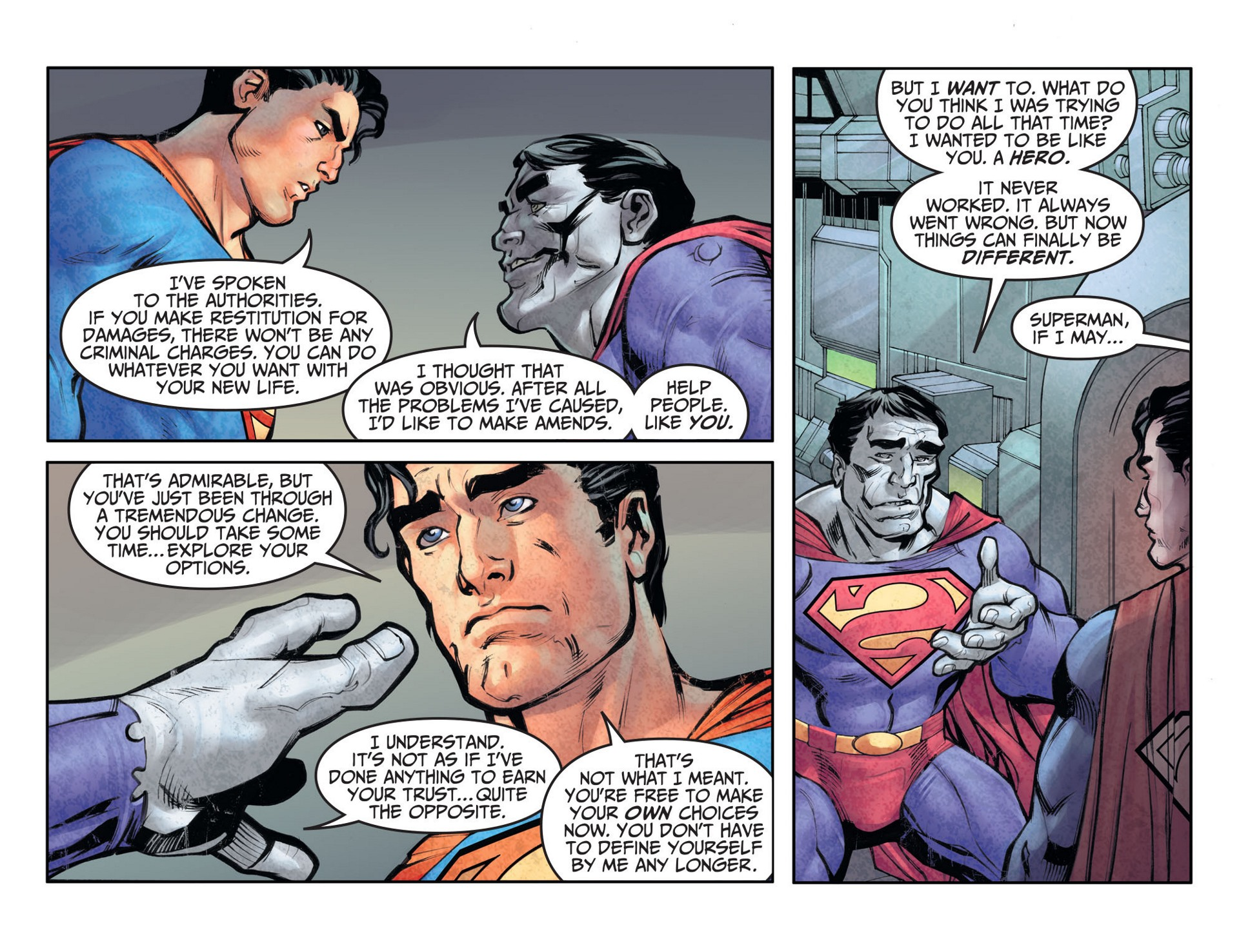 Read online Adventures of Superman [I] comic -  Issue #26 - 7