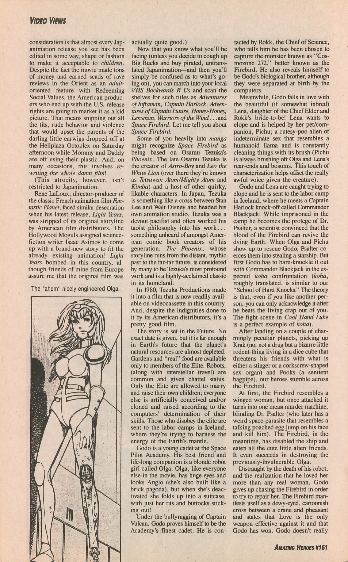 Read online Amazing Heroes comic -  Issue #161 - 50