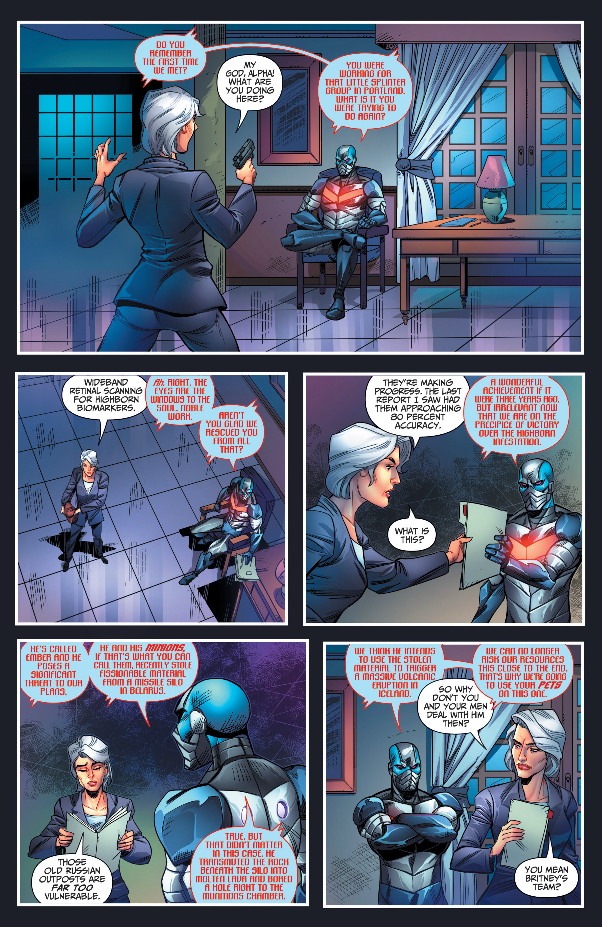 Read online Grimm Fairy Tales presents Red Agent: The Human Order comic -  Issue #7 - 4