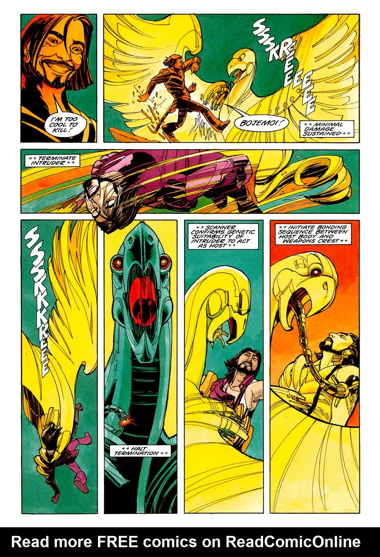 Read online Nikolai Dante comic -  Issue # TPB 1 - 24