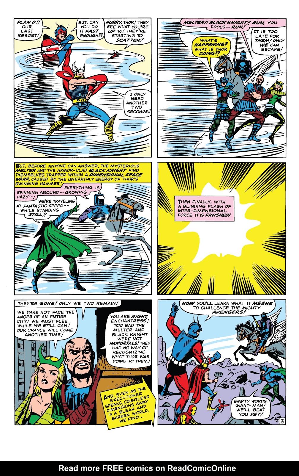Read online Marvel Tales: Avengers comic -  Issue # Full - 8