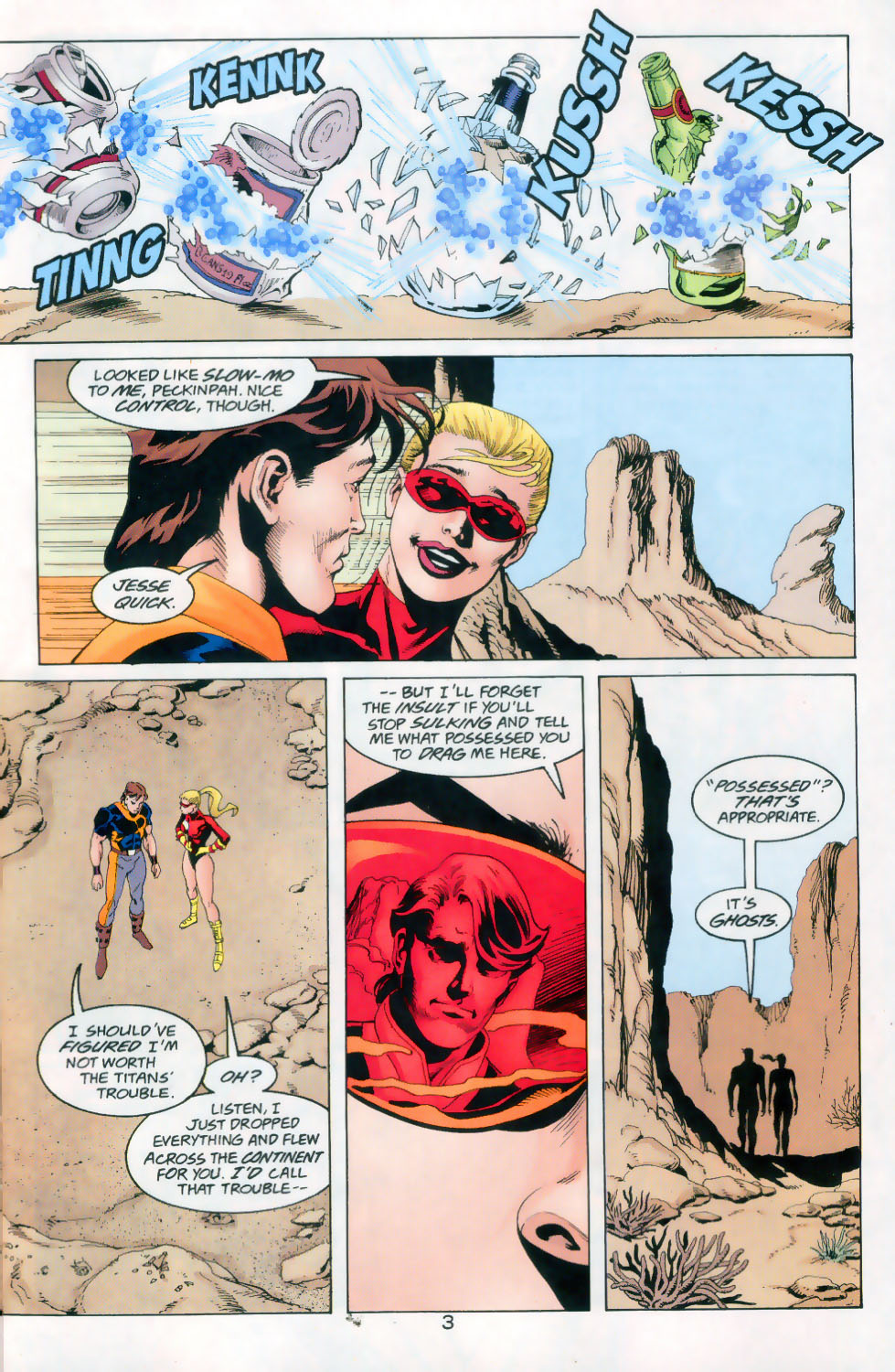 Read online The Titans (1999) comic -  Issue #45 - 4