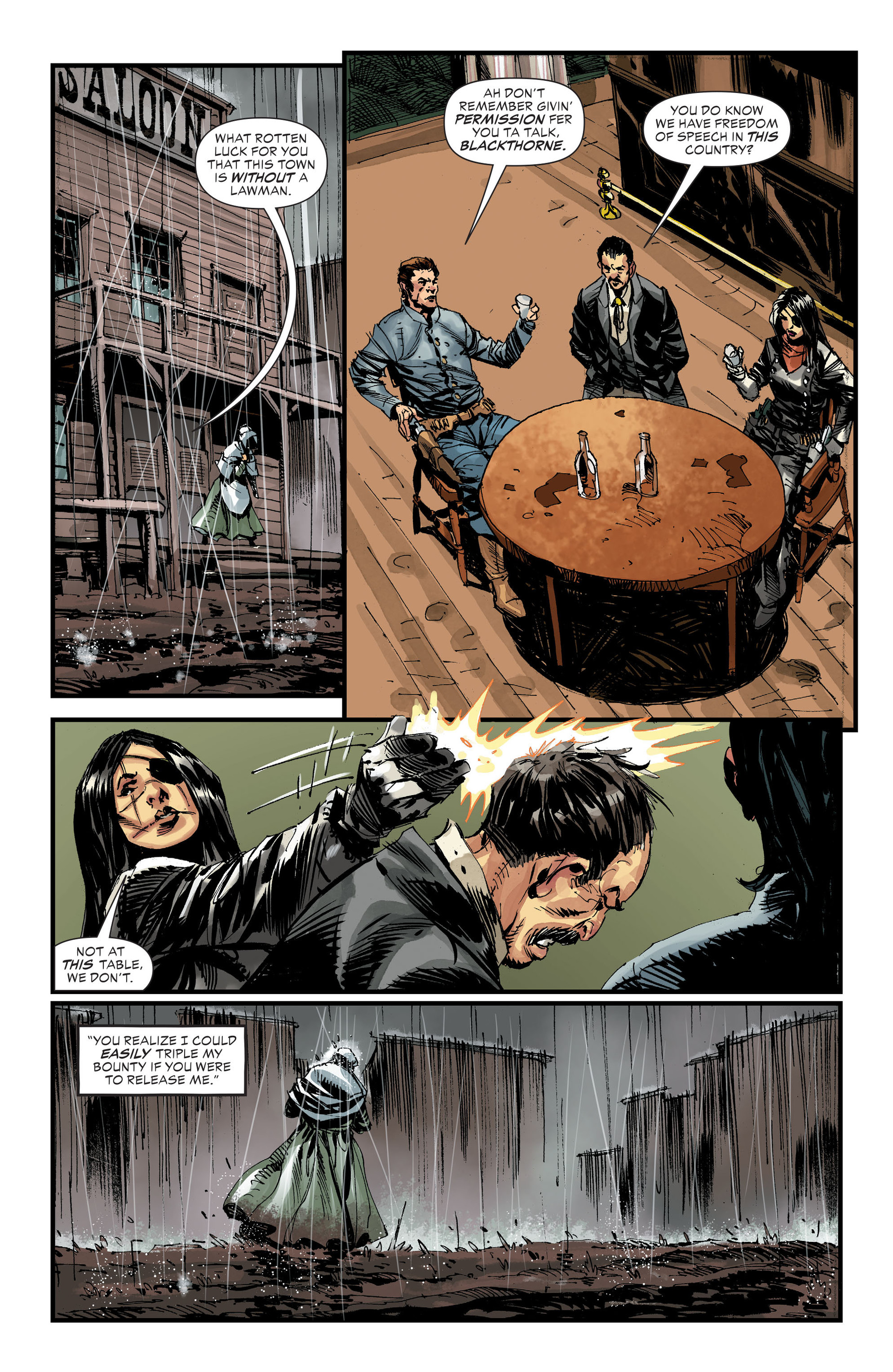 Read online All-Star Western (2011) comic -  Issue #32 - 7