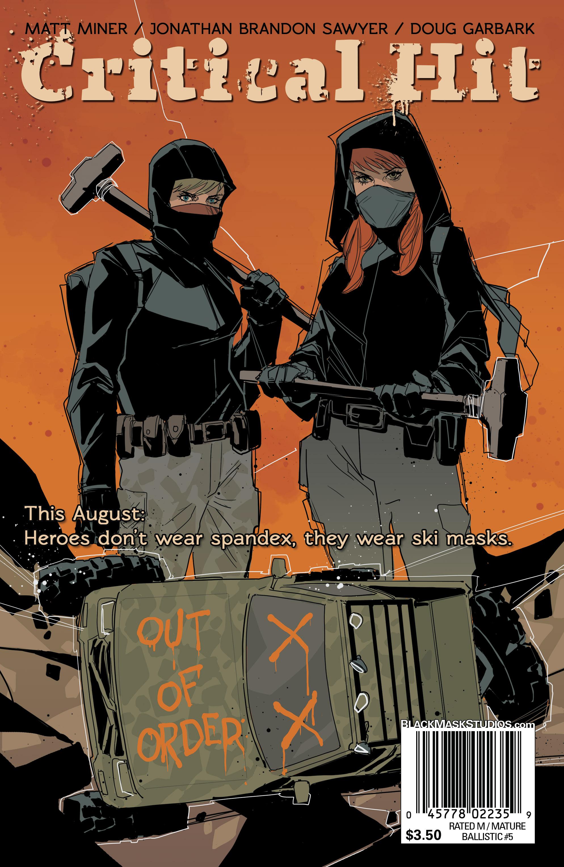 Read online Ballistic (2013) comic -  Issue #5 - 32