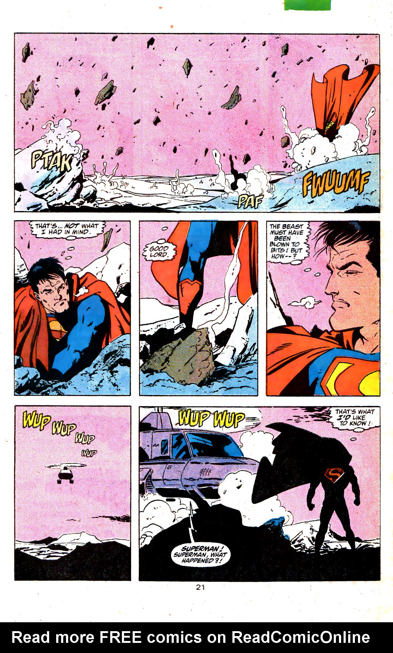 Read online Action Comics (1938) comic -  Issue #646 - 22