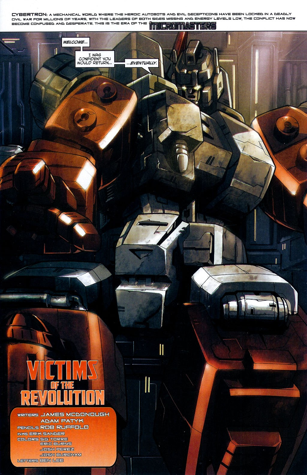Read online Transformers: Micromasters comic -  Issue #4 - 3