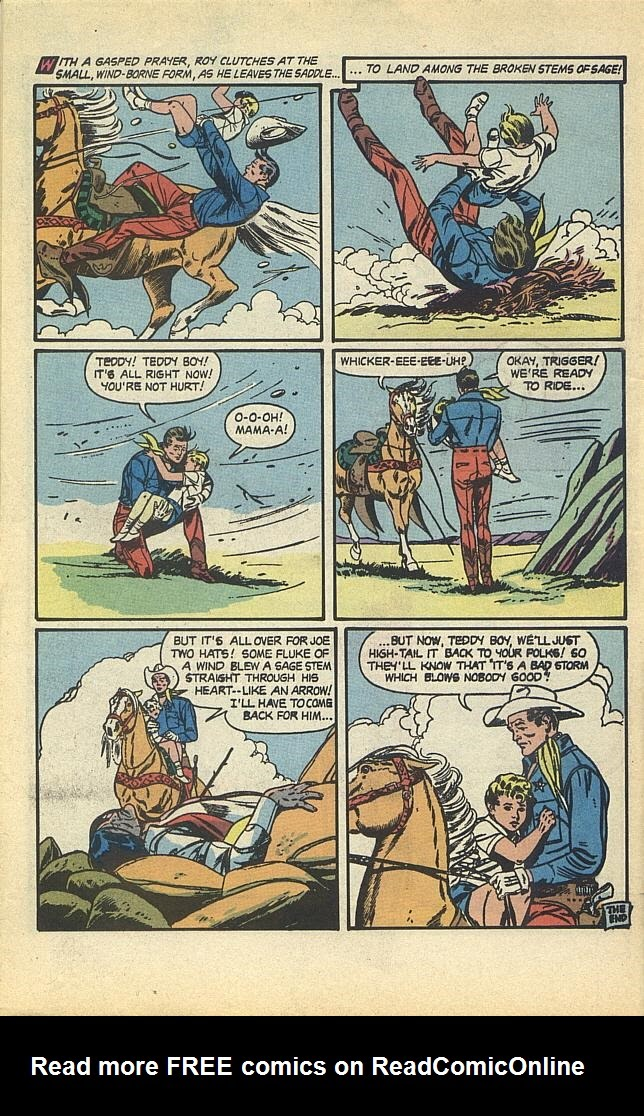 Read online Roy Rogers comic -  Issue #1 - 43