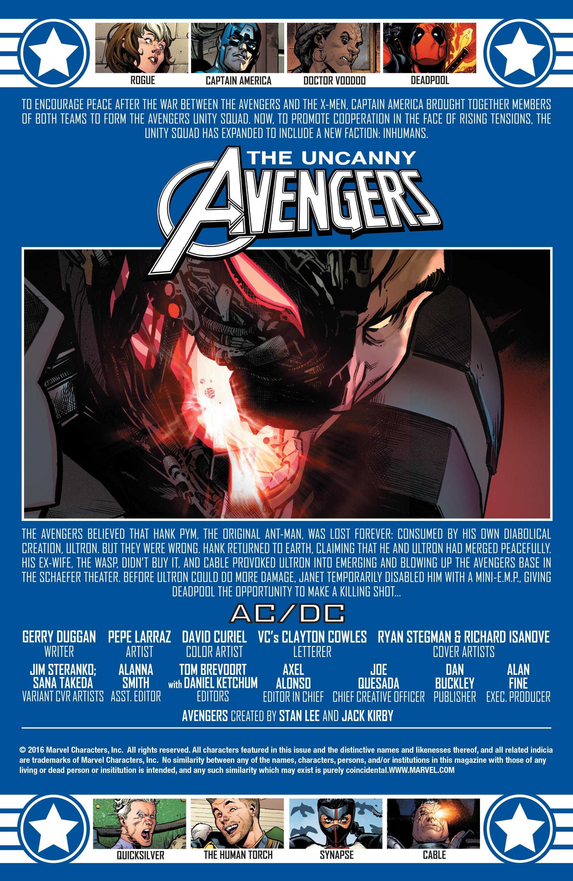 Read online Uncanny Avengers [II] comic -  Issue #11 - 2
