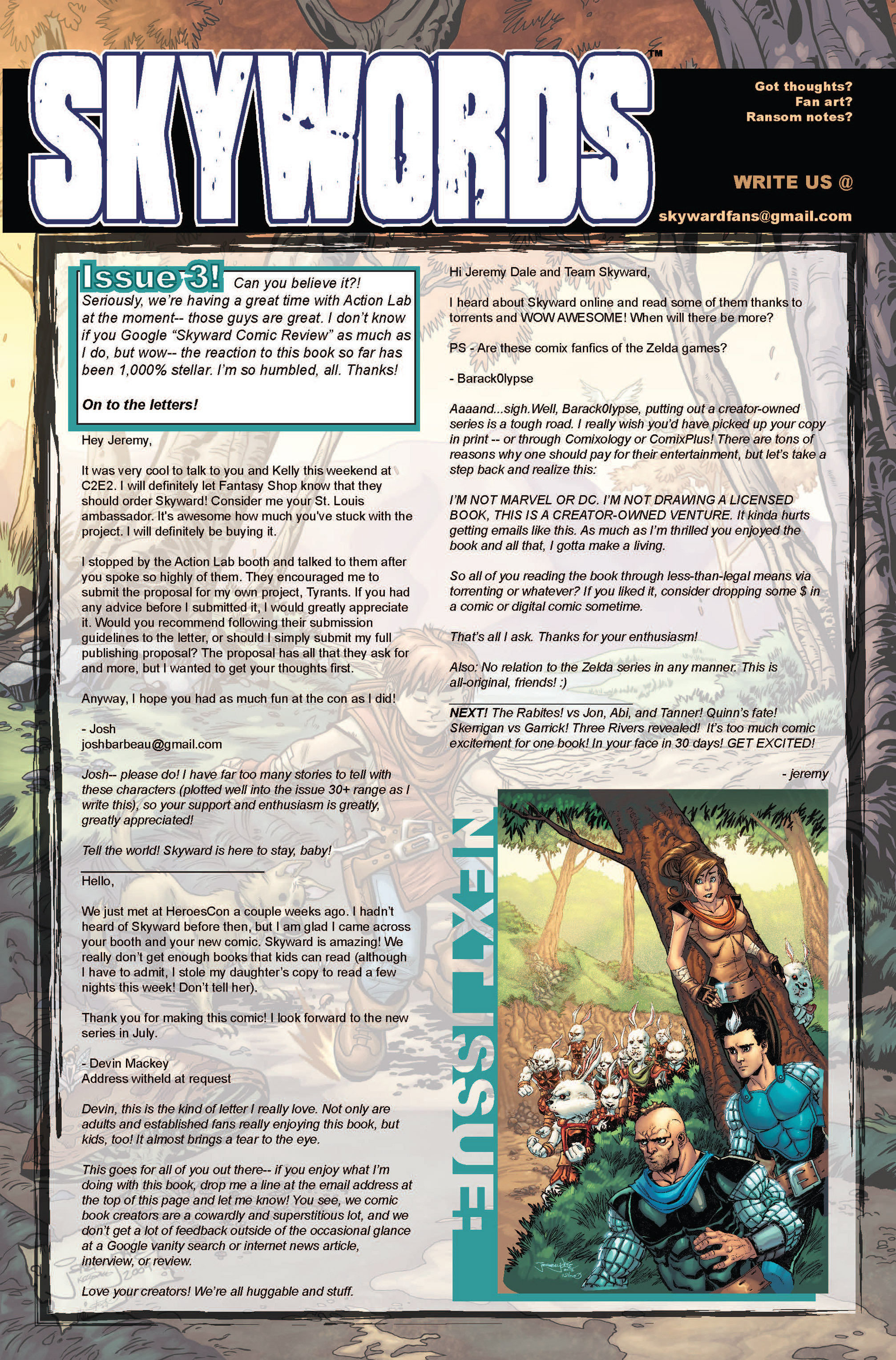 Read online Skyward comic -  Issue #3 - 24
