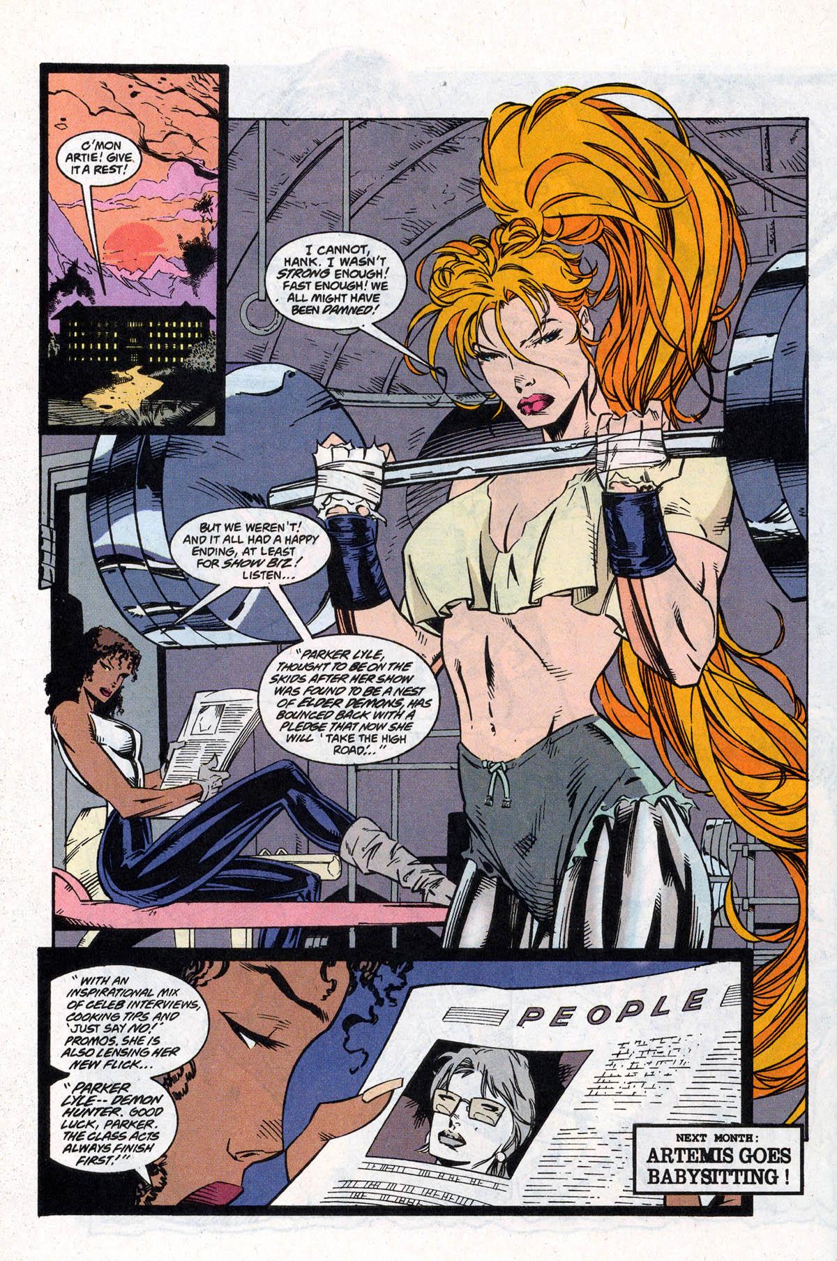 Read online Artemis: Requiem comic -  Issue #4 - 30