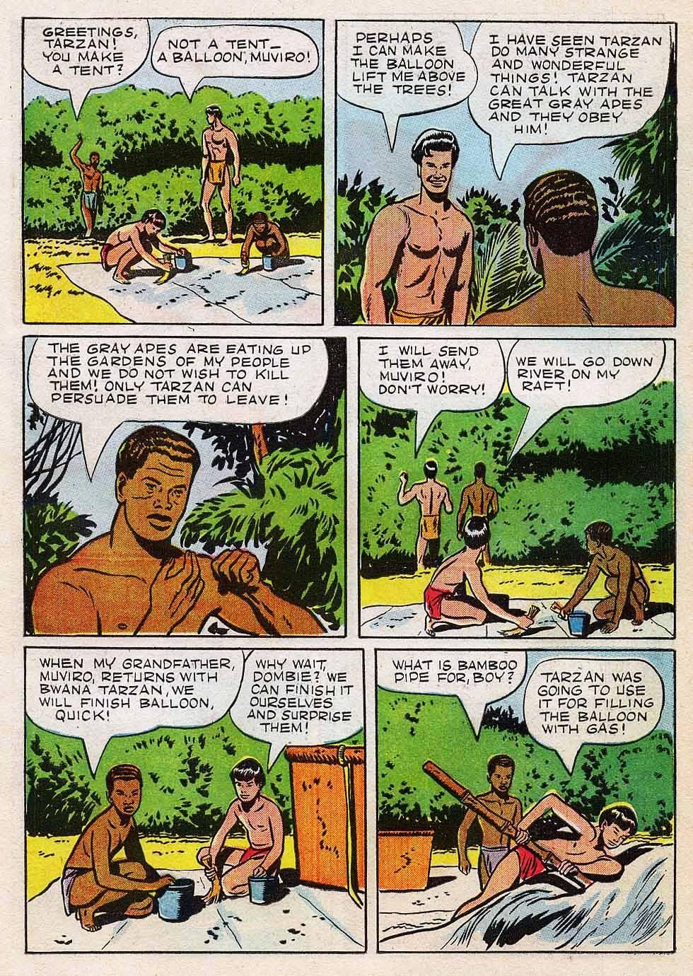 Tarzan (1948) issue 7 - Page 7