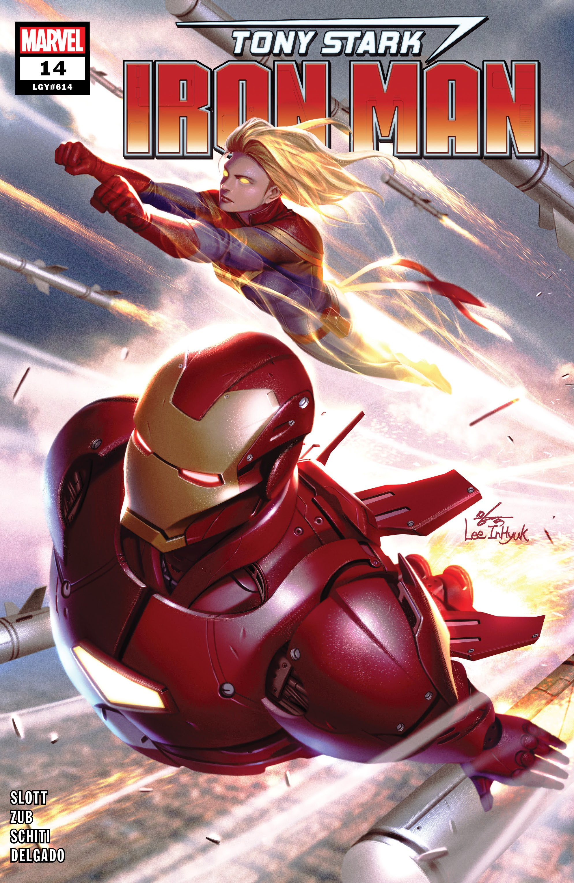 Read online Tony Stark: Iron Man comic -  Issue #14 - 1