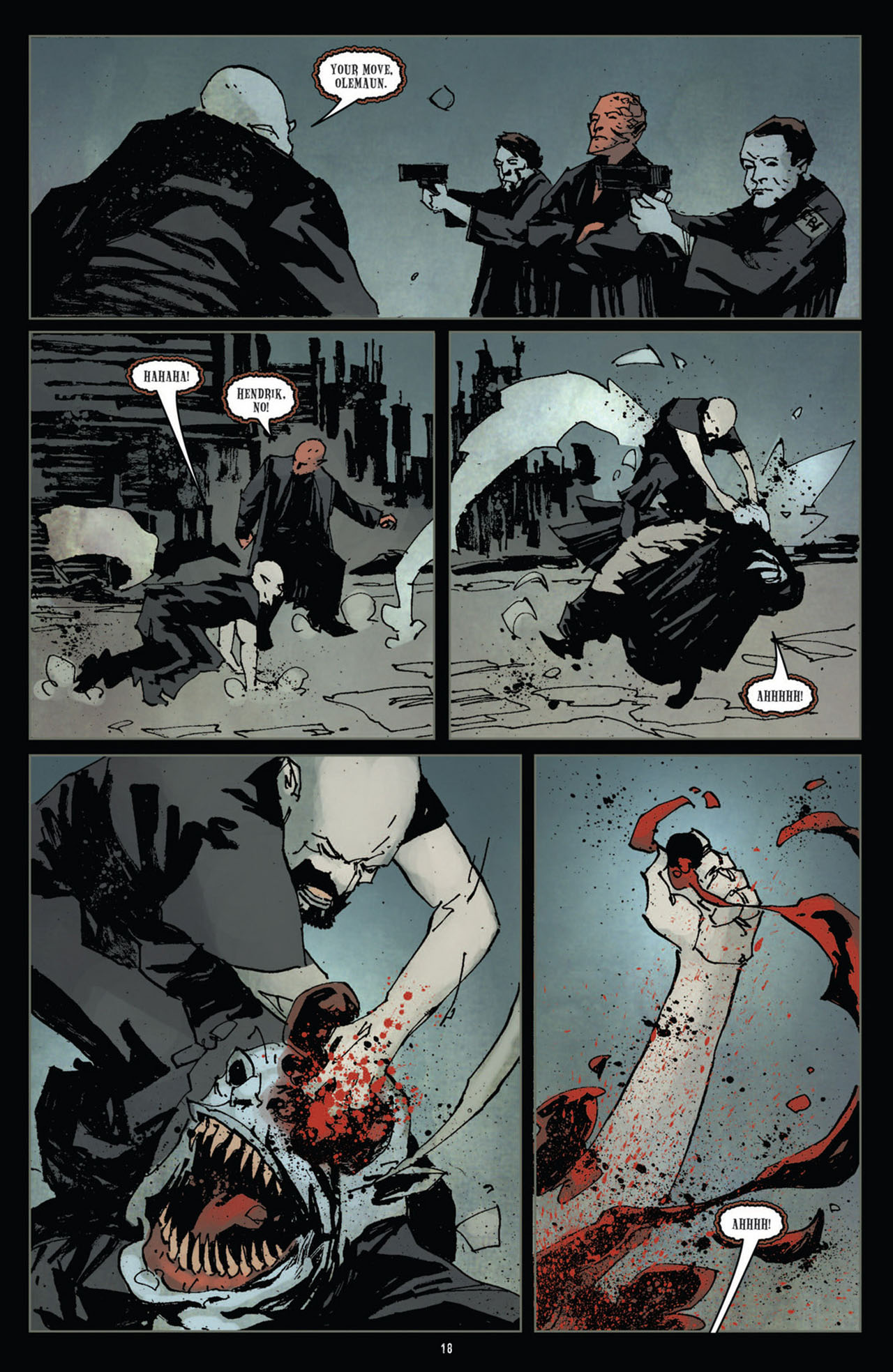 Read online 30 Days of Night (2011) comic -  Issue #11 - 19