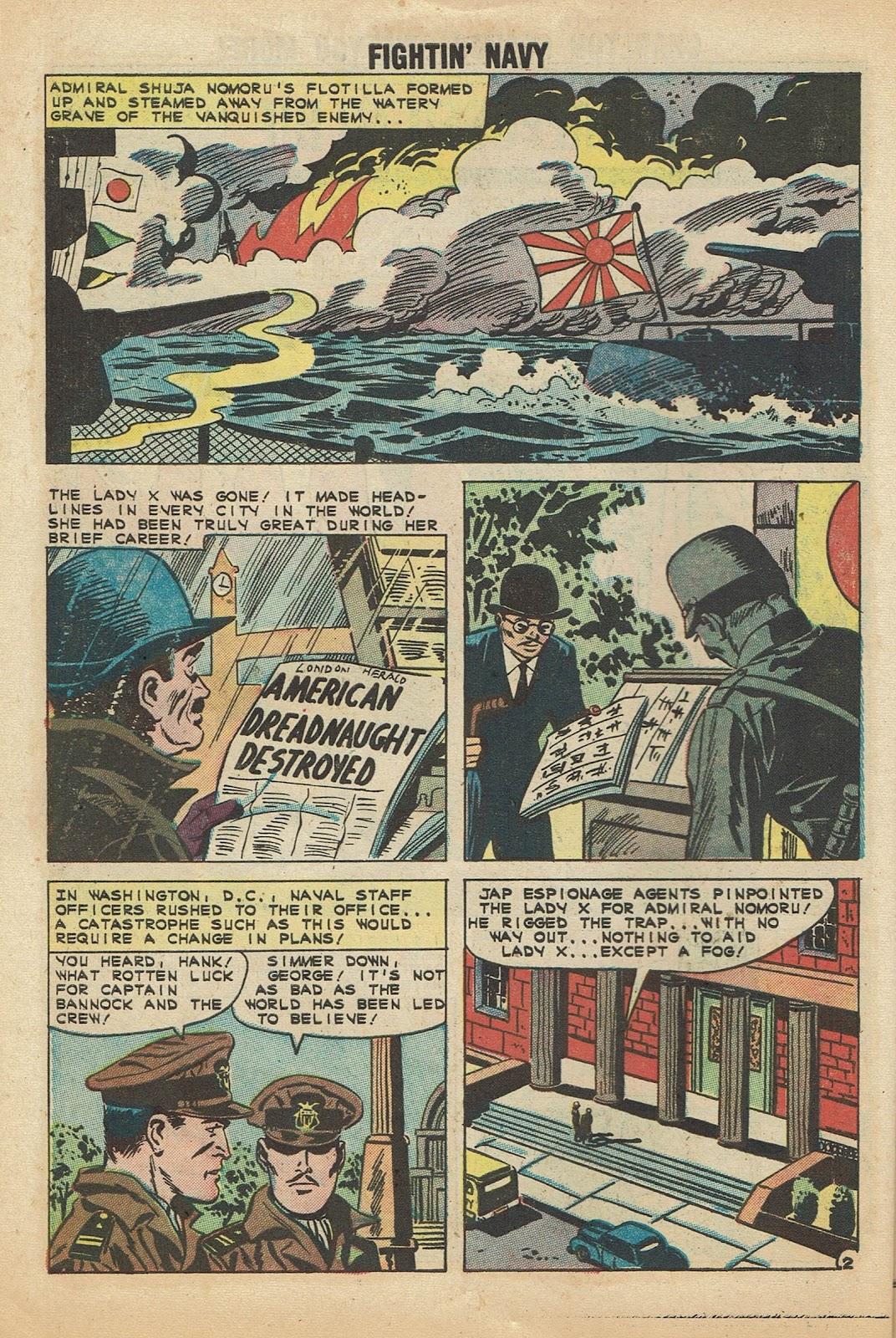 Read online Fightin' Navy comic -  Issue #97 - 10
