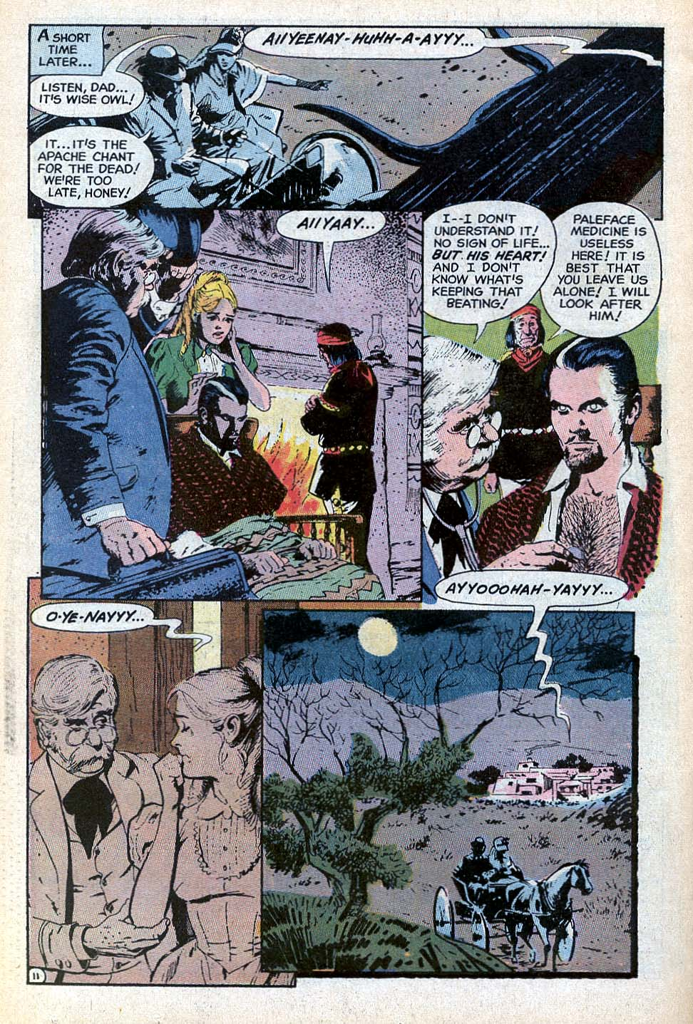 Read online All-Star Western (1970) comic -  Issue #3 - 21