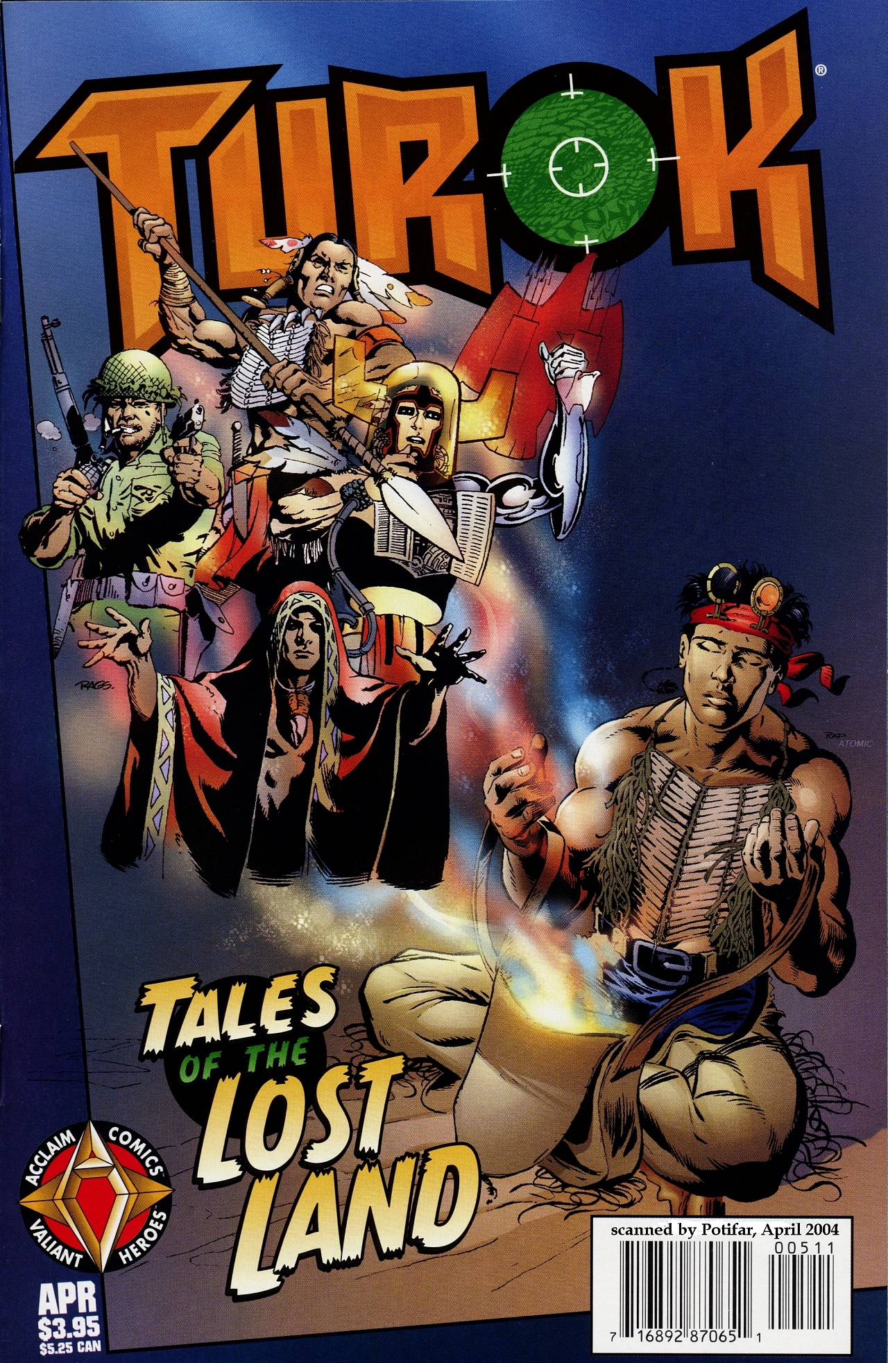 Read online Turok: Tales of the Lost Land comic -  Issue # Full - 1