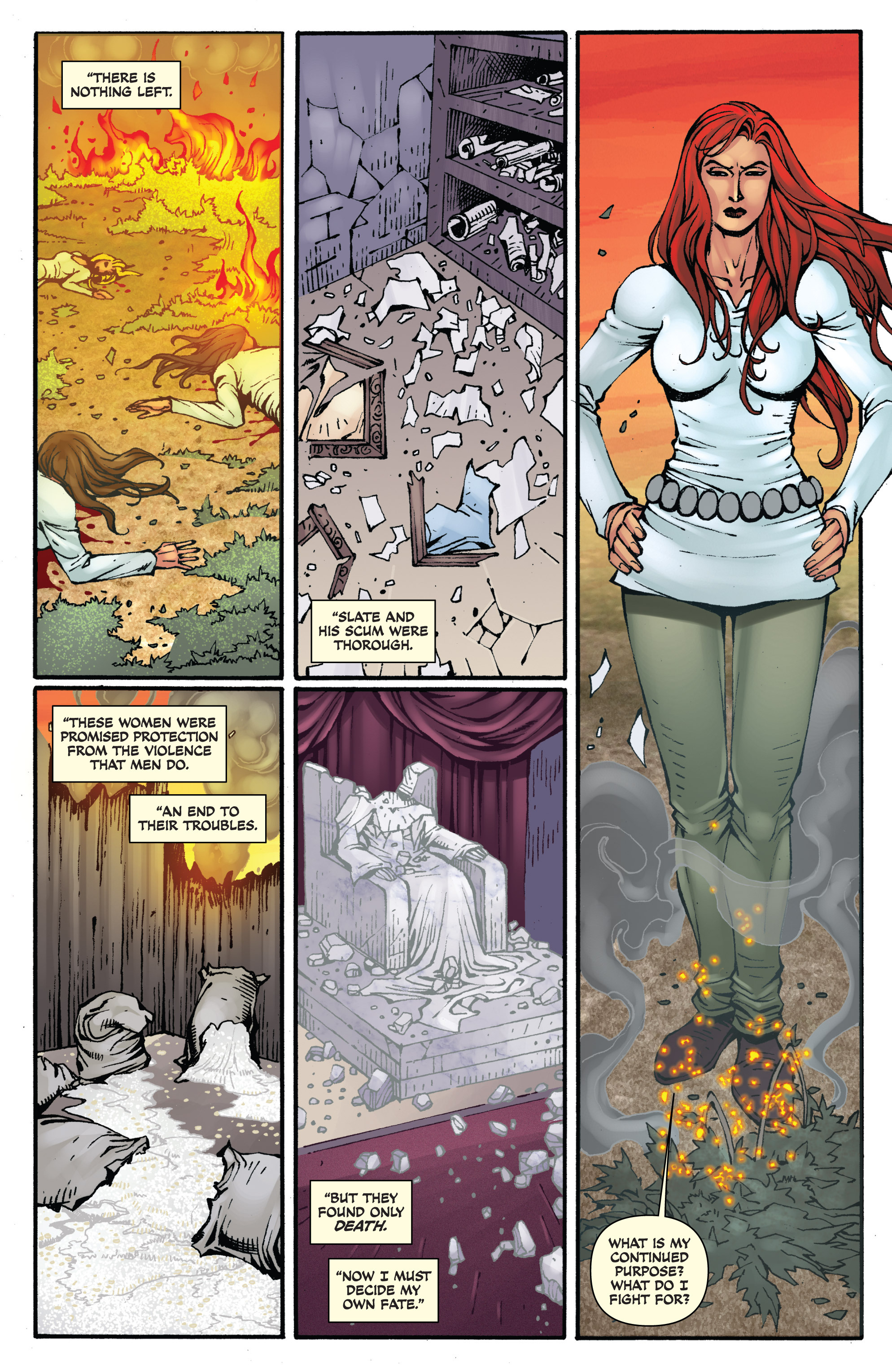 Read online Red Sonja: Sanctuary comic -  Issue # Full - 21