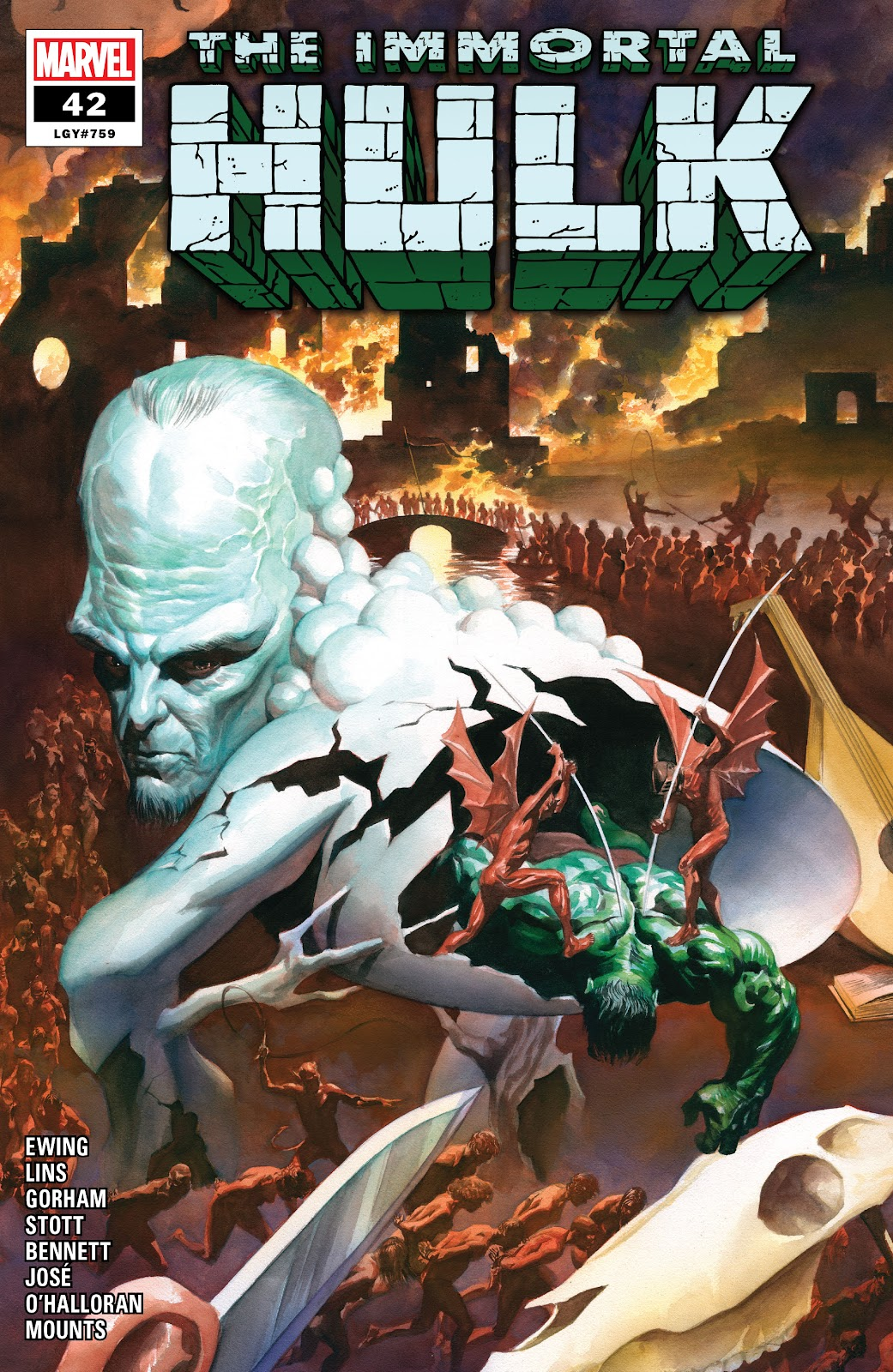 Immortal Hulk issue 42 - Page 1