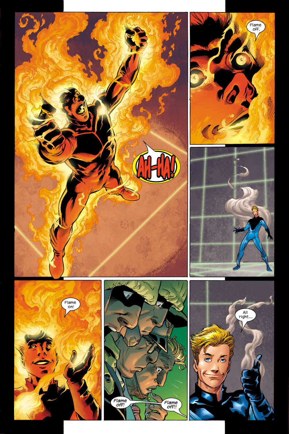 Read online Ultimate Fantastic Four (2004) comic -  Issue #4 - 5