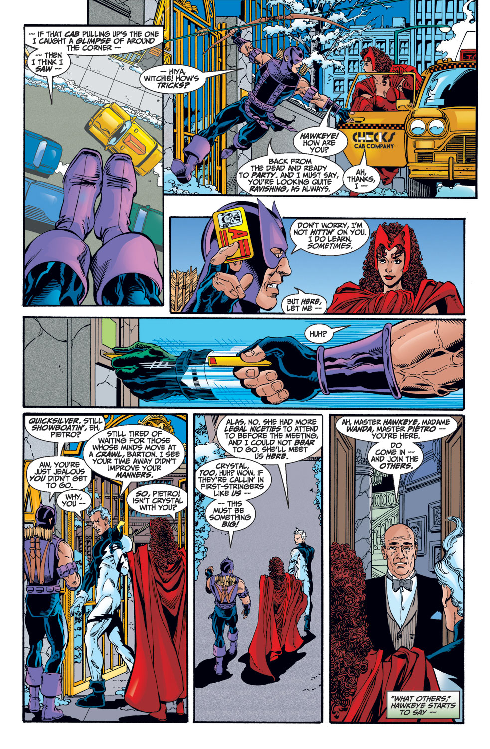 Avengers (1998) issue 1 - Page 16