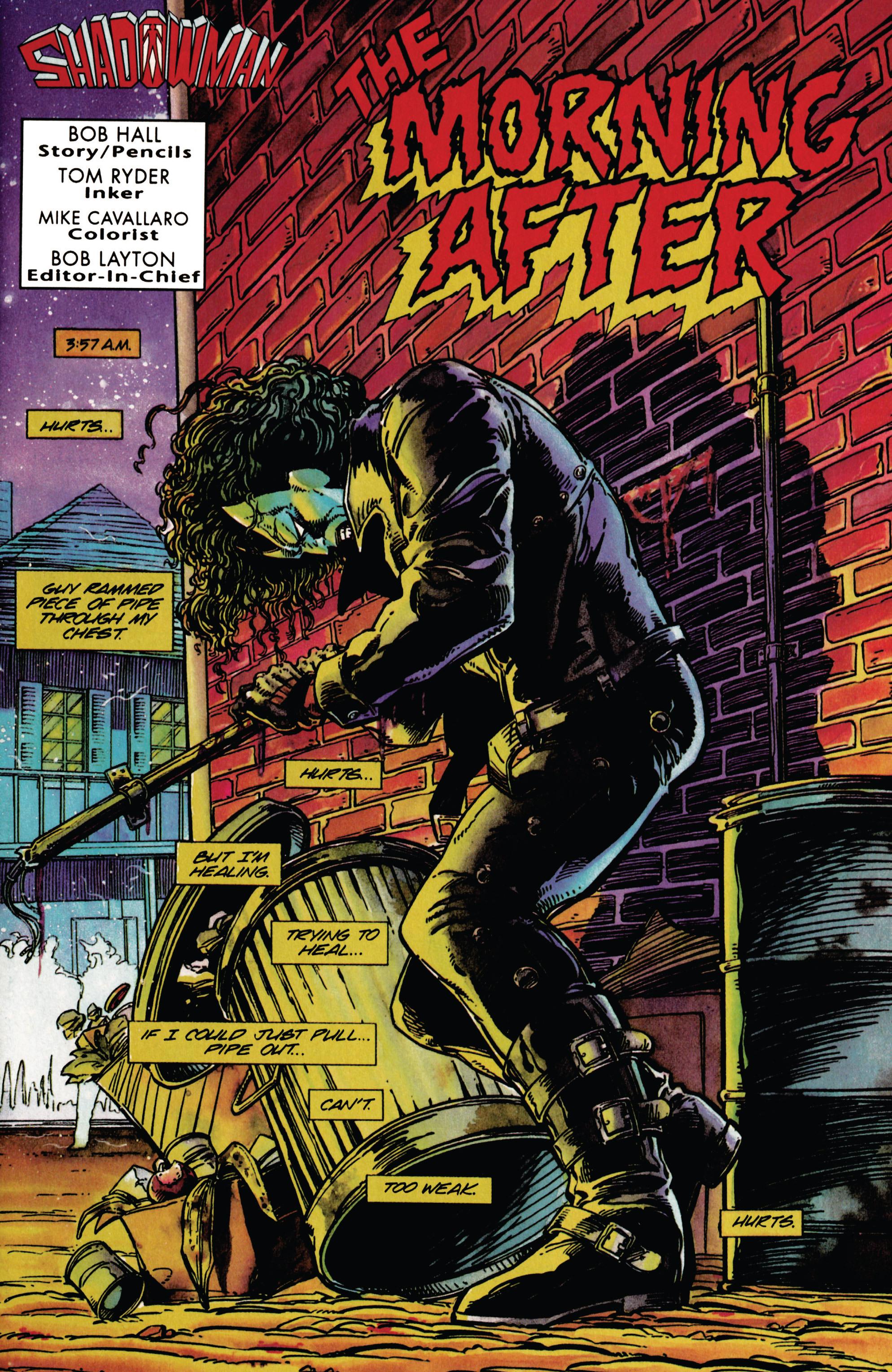 Read online Shadowman (1992) comic -  Issue #27 - 2
