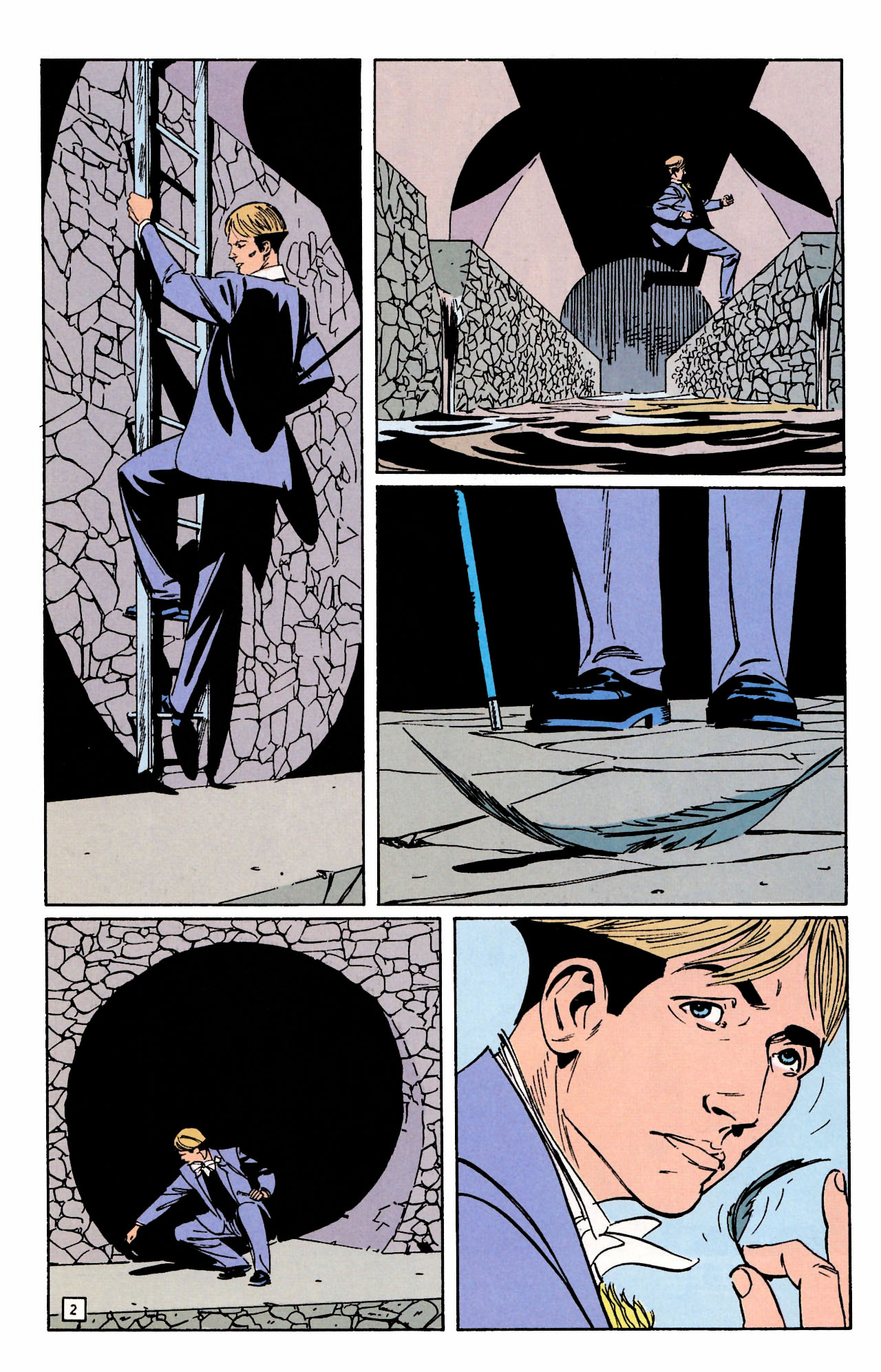 Read online Sebastian O comic -  Issue #2 - 4