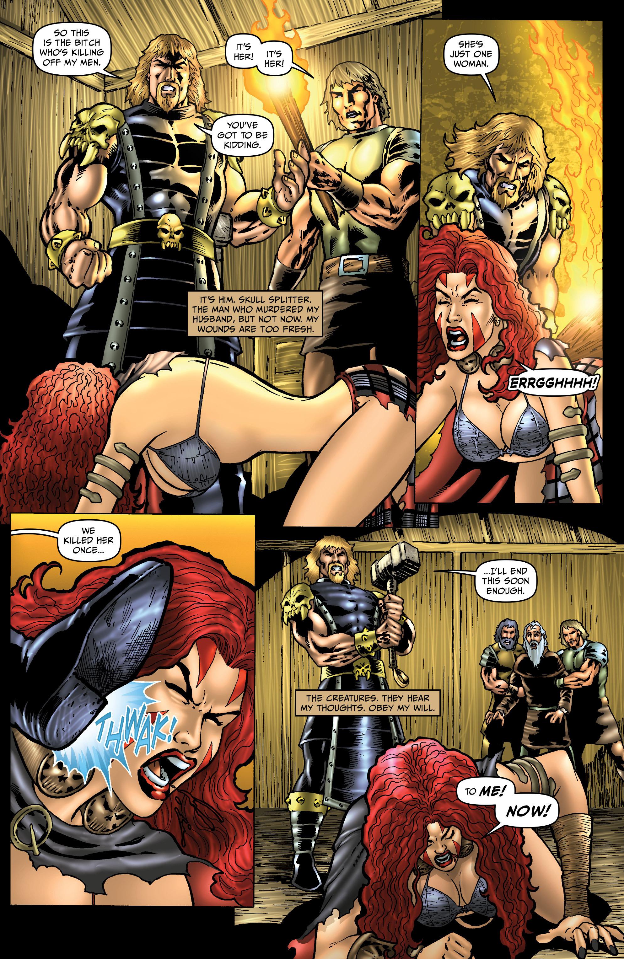 Read online Belladonna: Origins comic -  Issue #4 - 21