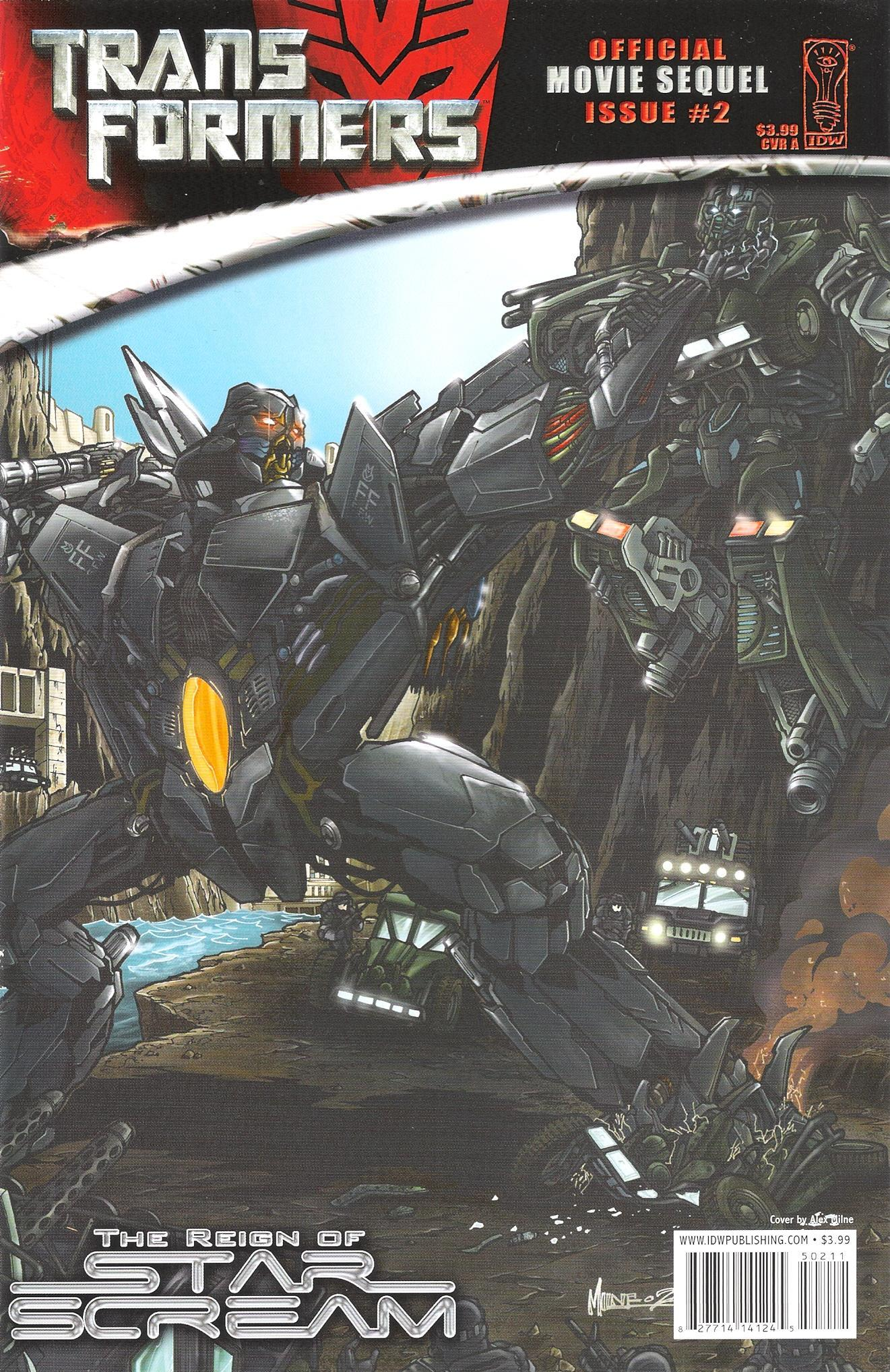 Read online Transformers: The Reign of Starscream comic -  Issue #2 - 1