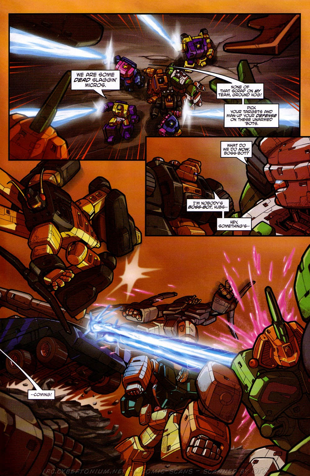 Read online Transformers: Micromasters comic -  Issue #2 - 6