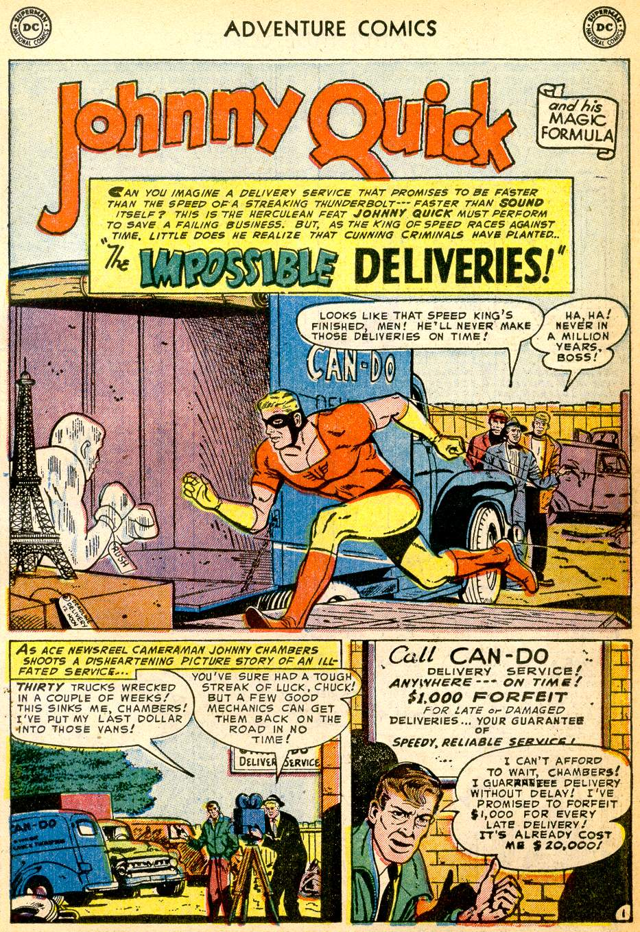 Read online Adventure Comics (1938) comic -  Issue #191 - 25