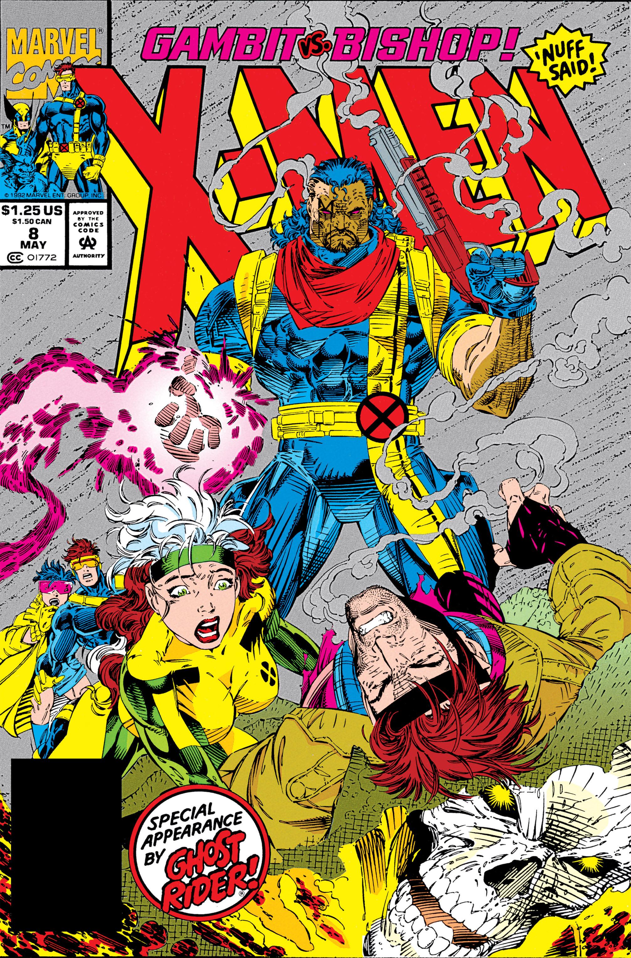 X-Men (1991) 8 Page 0