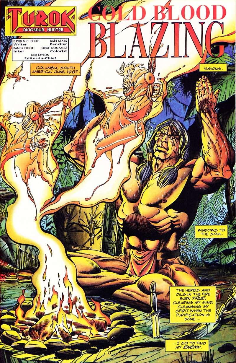 Read online Turok, Dinosaur Hunter (1993) comic -  Issue #1 - 2