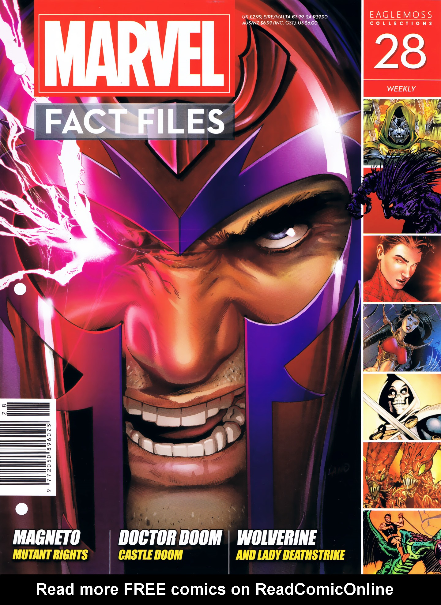 Marvel Fact Files 28 Page 1