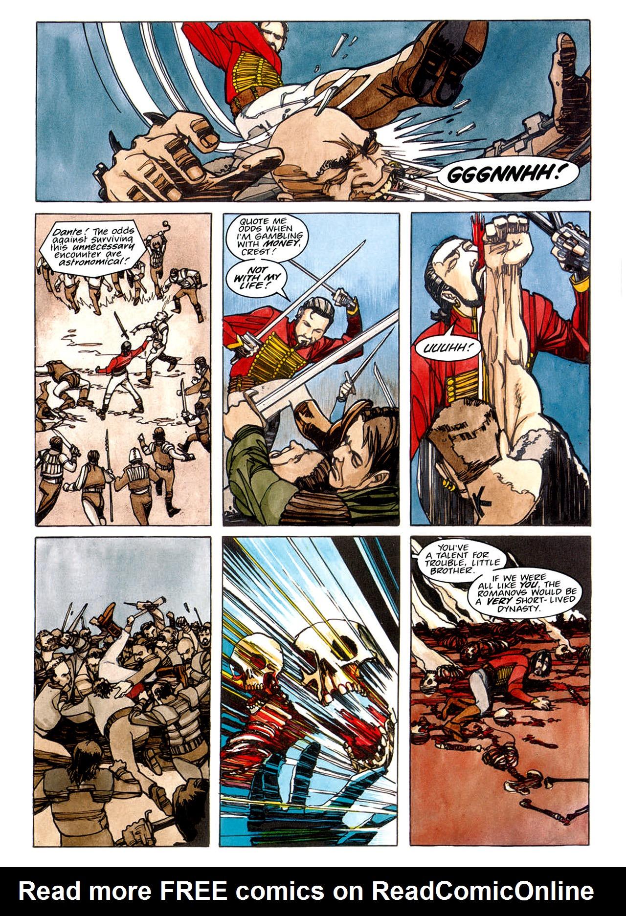 Read online Nikolai Dante comic -  Issue # TPB 1 - 77