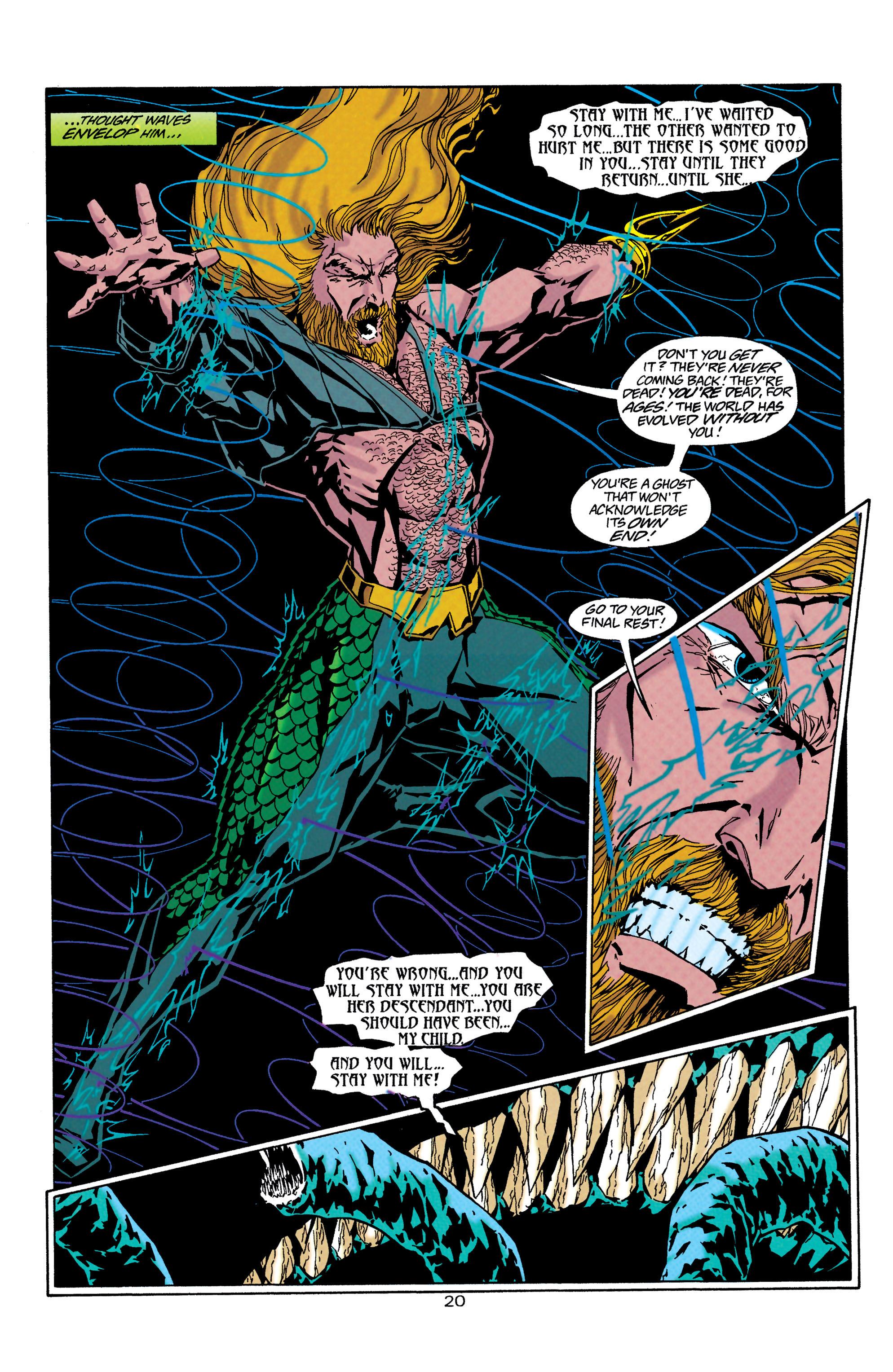 Read online Aquaman (1994) comic -  Issue #30 - 20