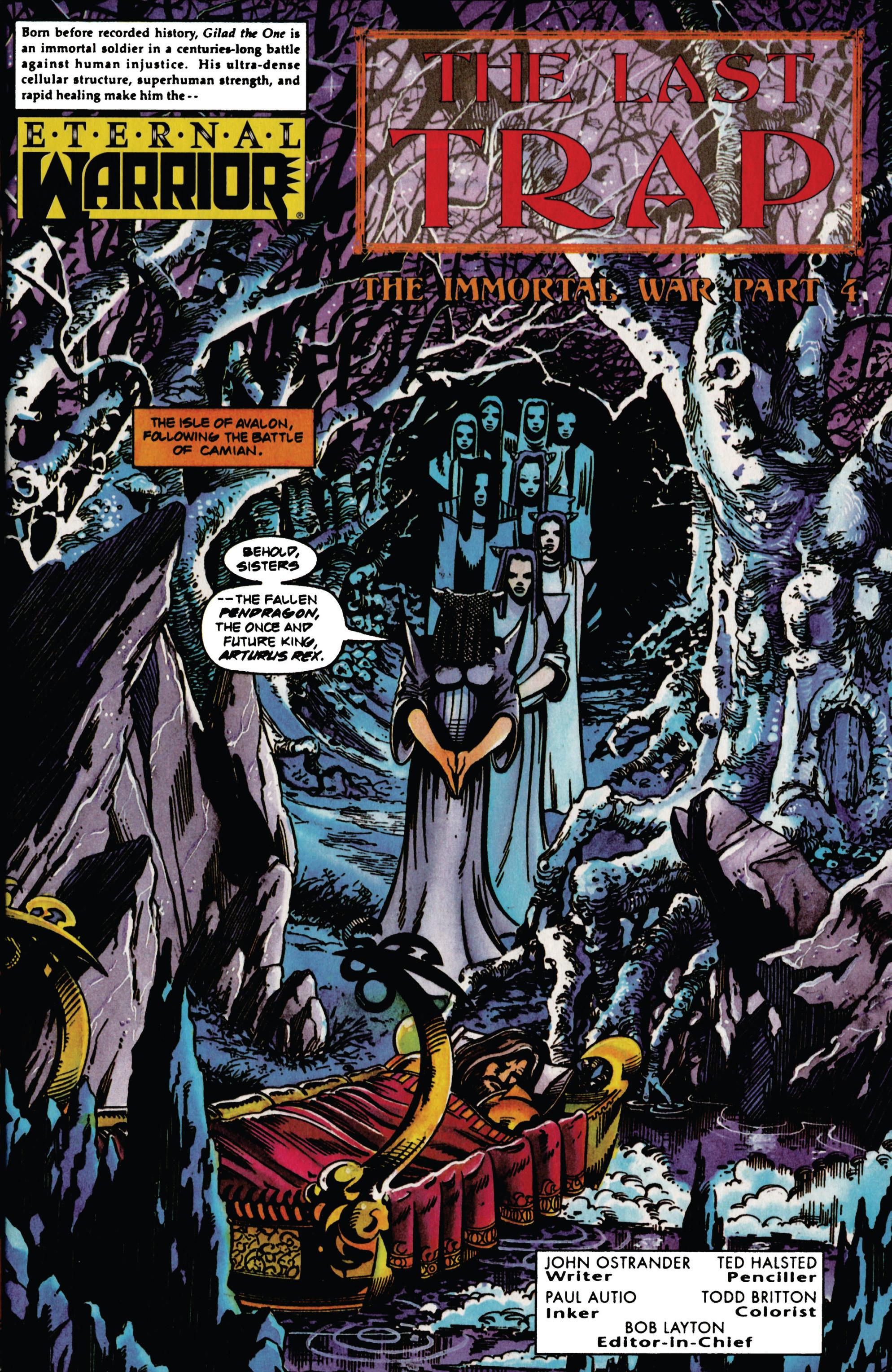 Read online Eternal Warrior (1992) comic -  Issue #31 - 2