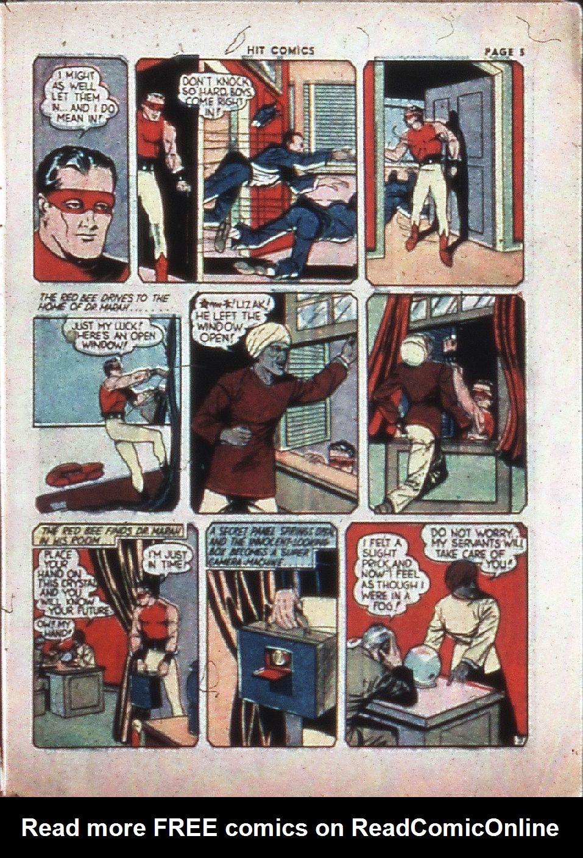 Read online Hit Comics comic -  Issue #4 - 7