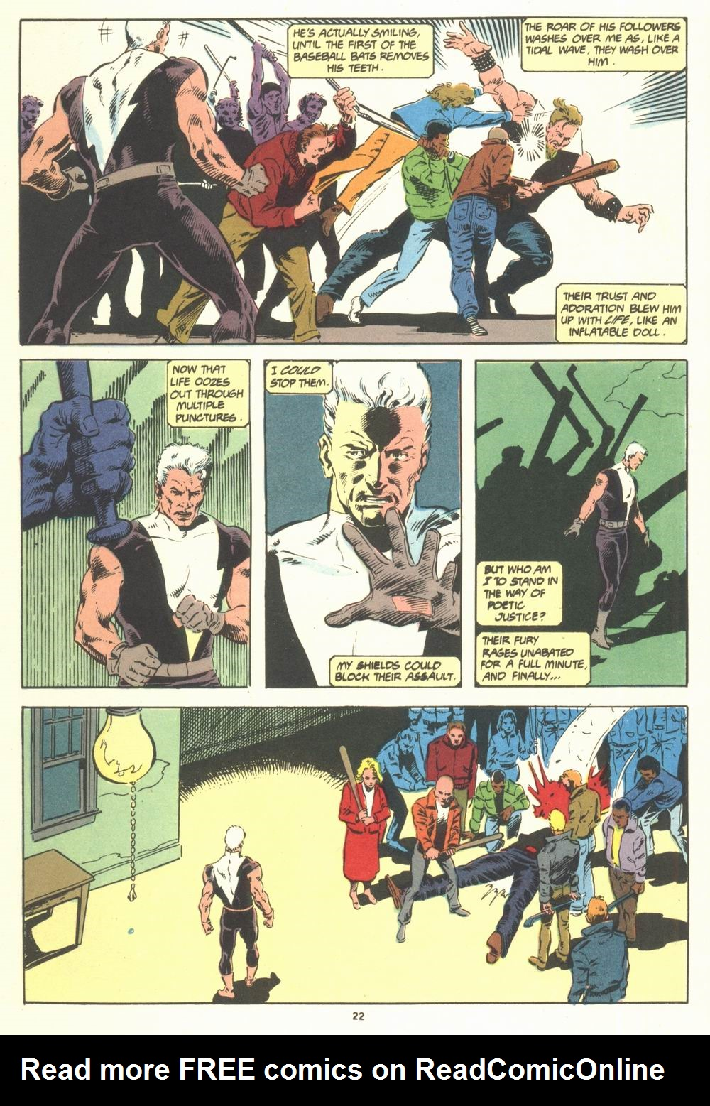 Read online Justice (1986) comic -  Issue #19 - 24