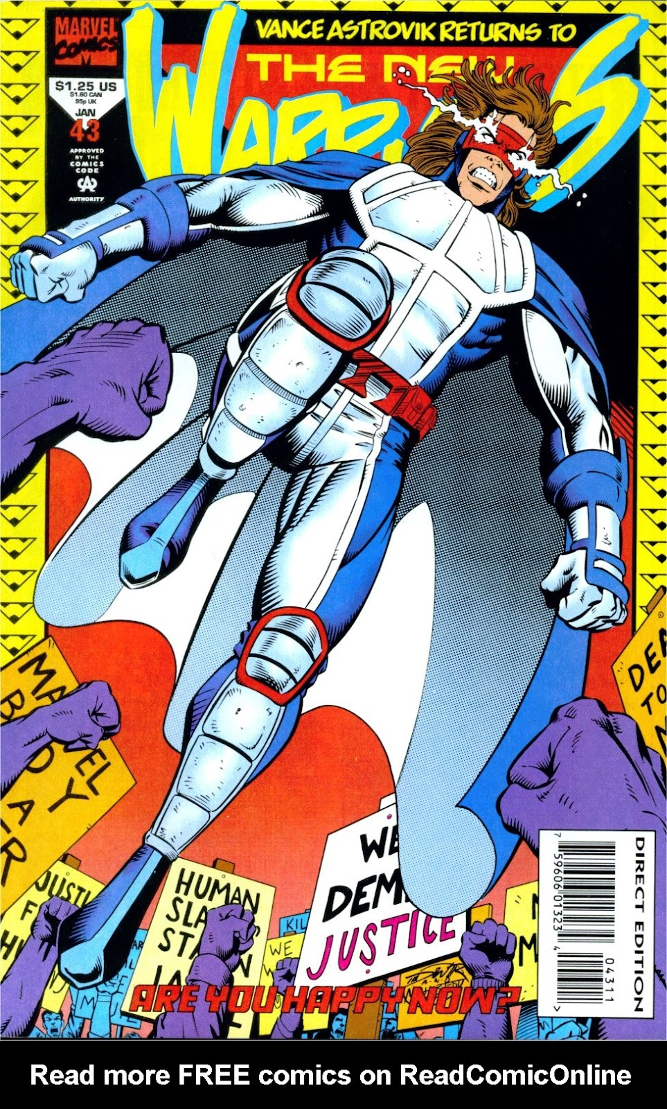 The New Warriors Issue #43 #47 - English 1