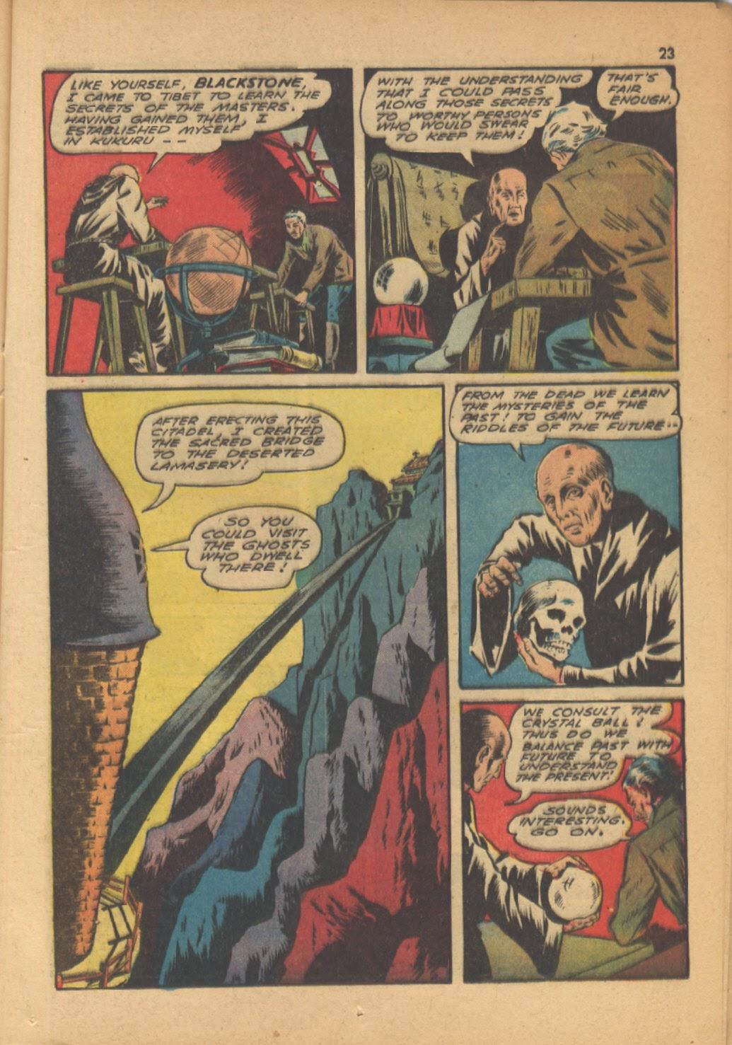 Read online Super-Magician Comics comic -  Issue #13 - 23