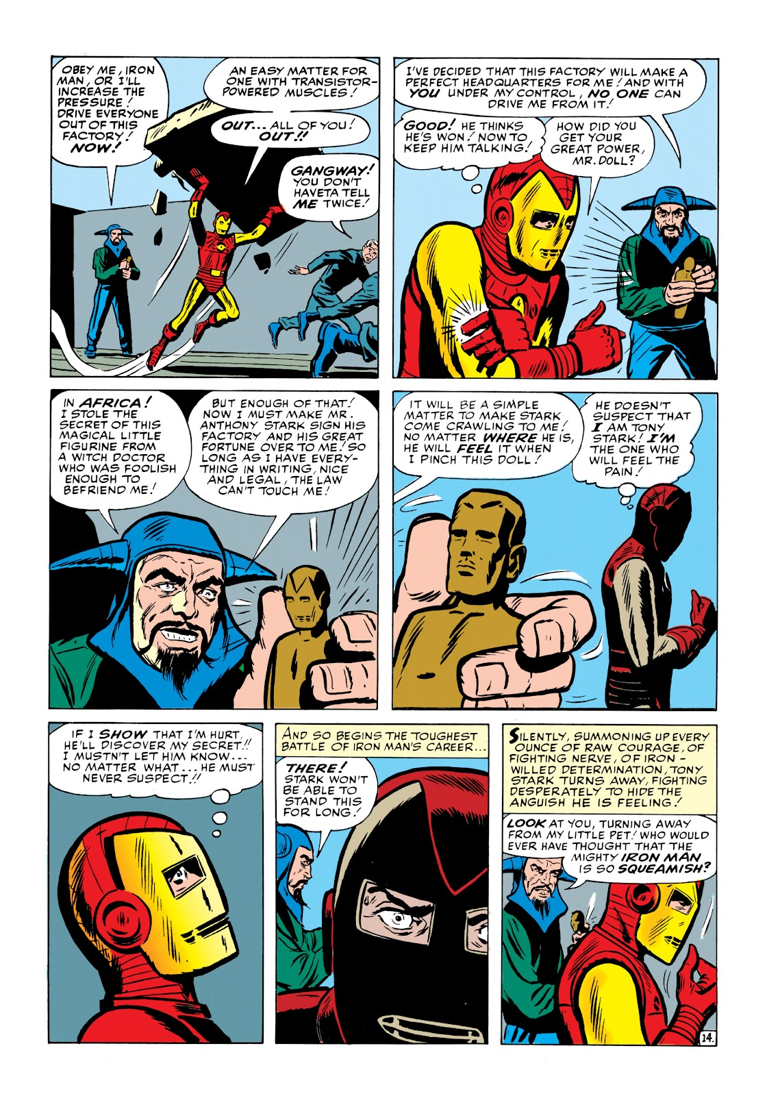 Read online Marvel Masterworks: The Invincible Iron Man comic -  Issue # TPB 1 (Part 2) - 53