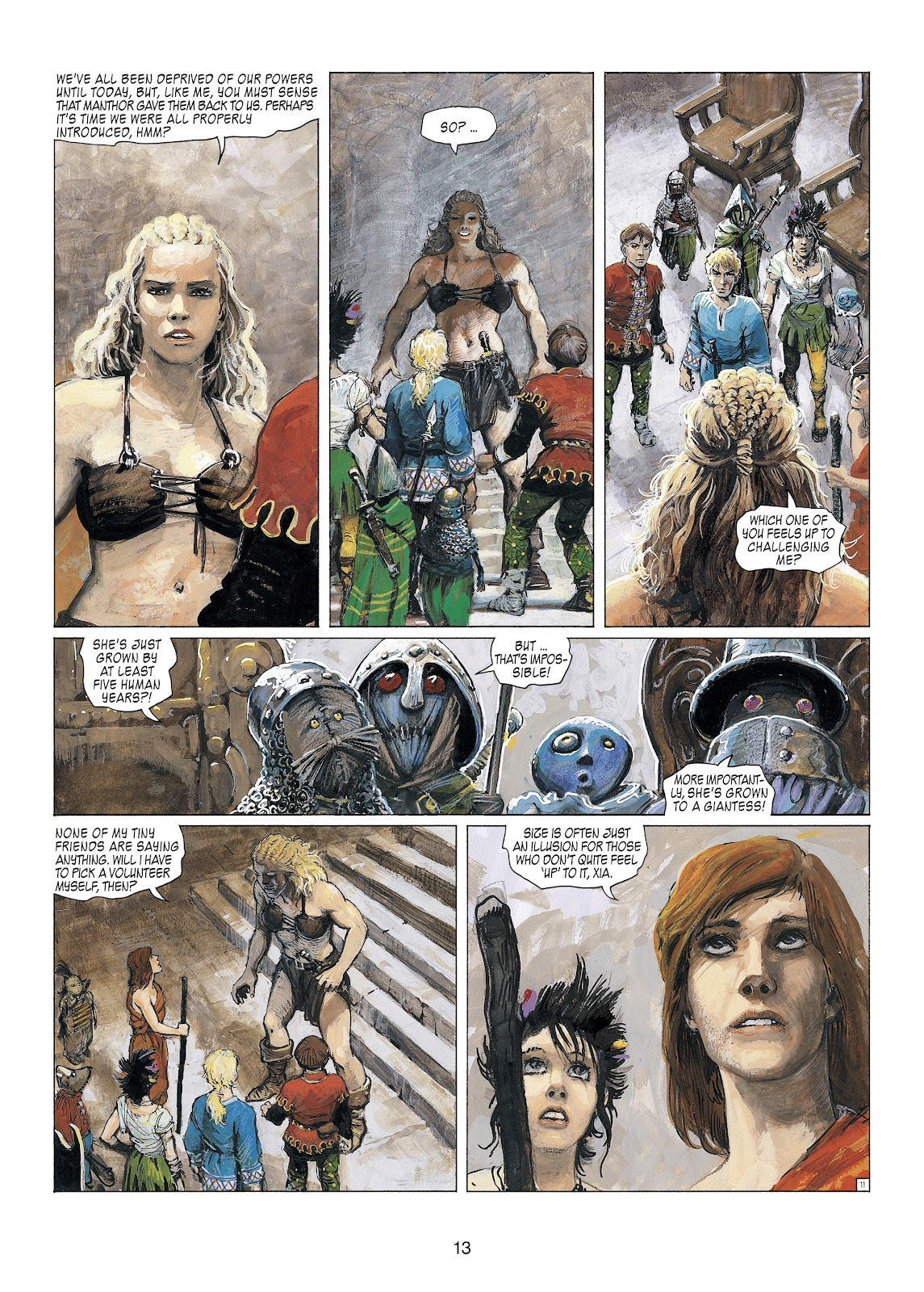Read online Thorgal comic -  Issue #23 - 15