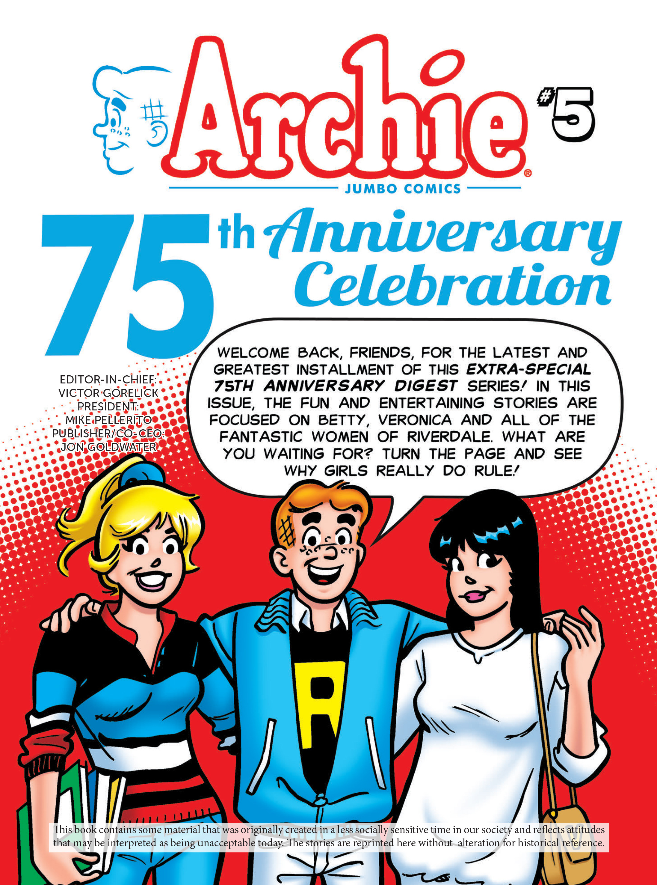 Read online Archie 75th Anniversary Digest comic -  Issue #5 - 2