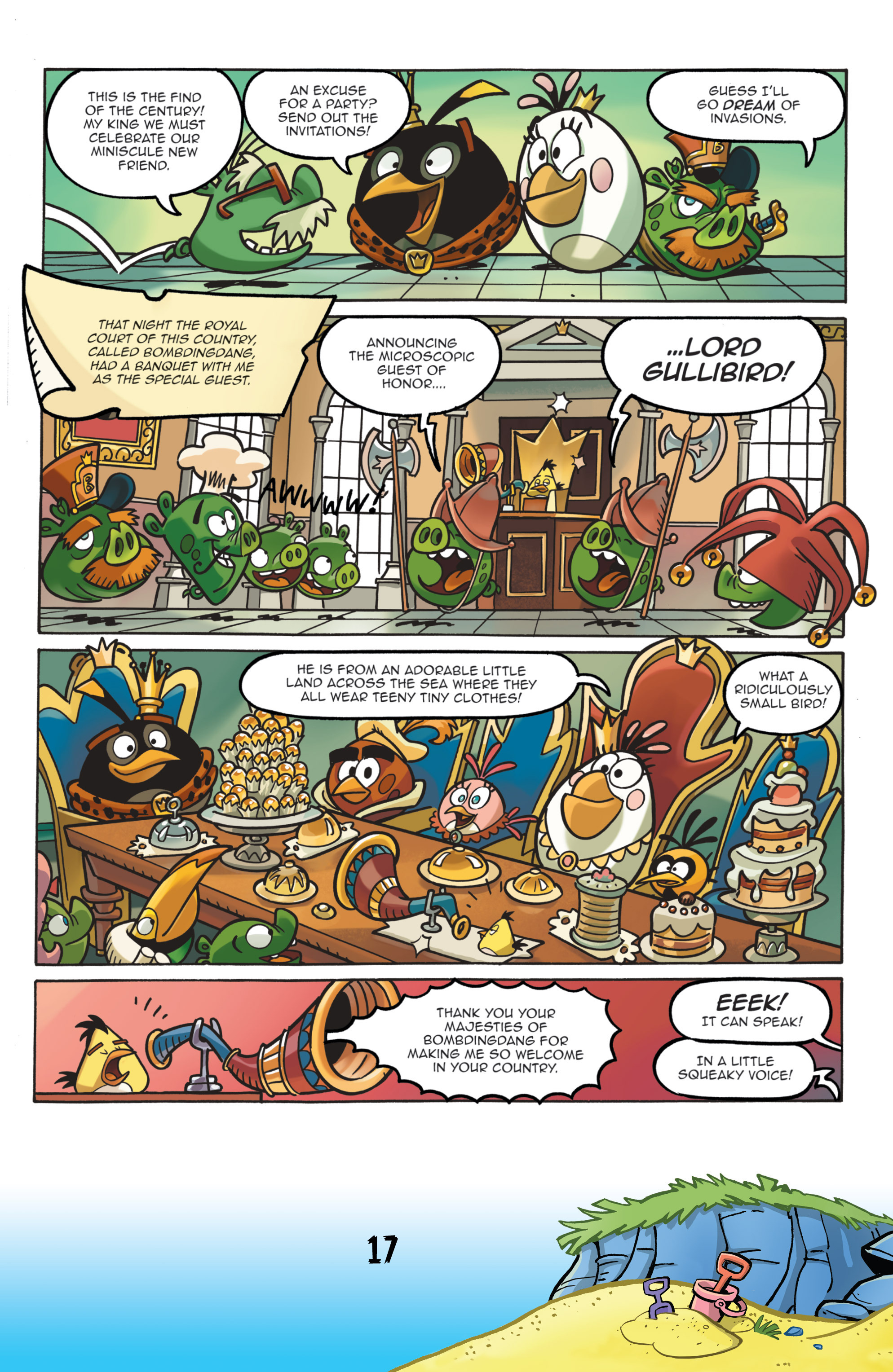 Read online Angry Birds Comics (2016) comic -  Issue #7 - 19