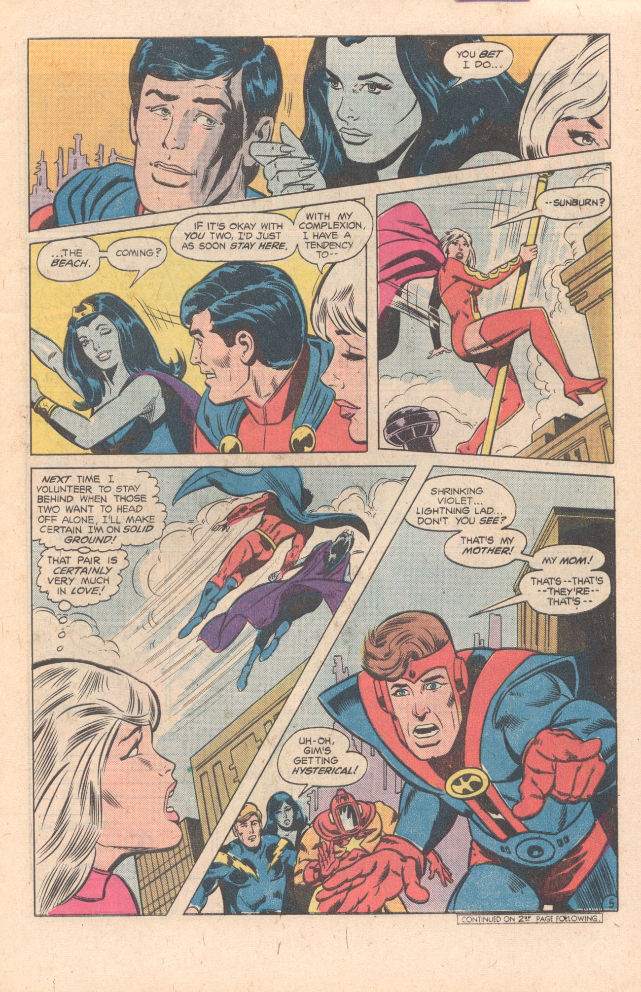 Legion of Super-Heroes (1980) 269 Page 6