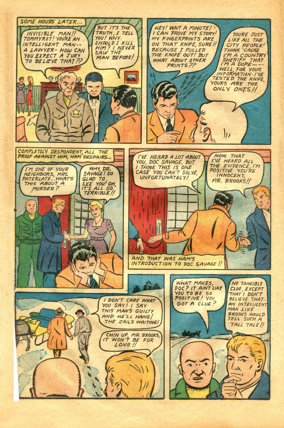 Read online Shadow Comics comic -  Issue #48 - 20