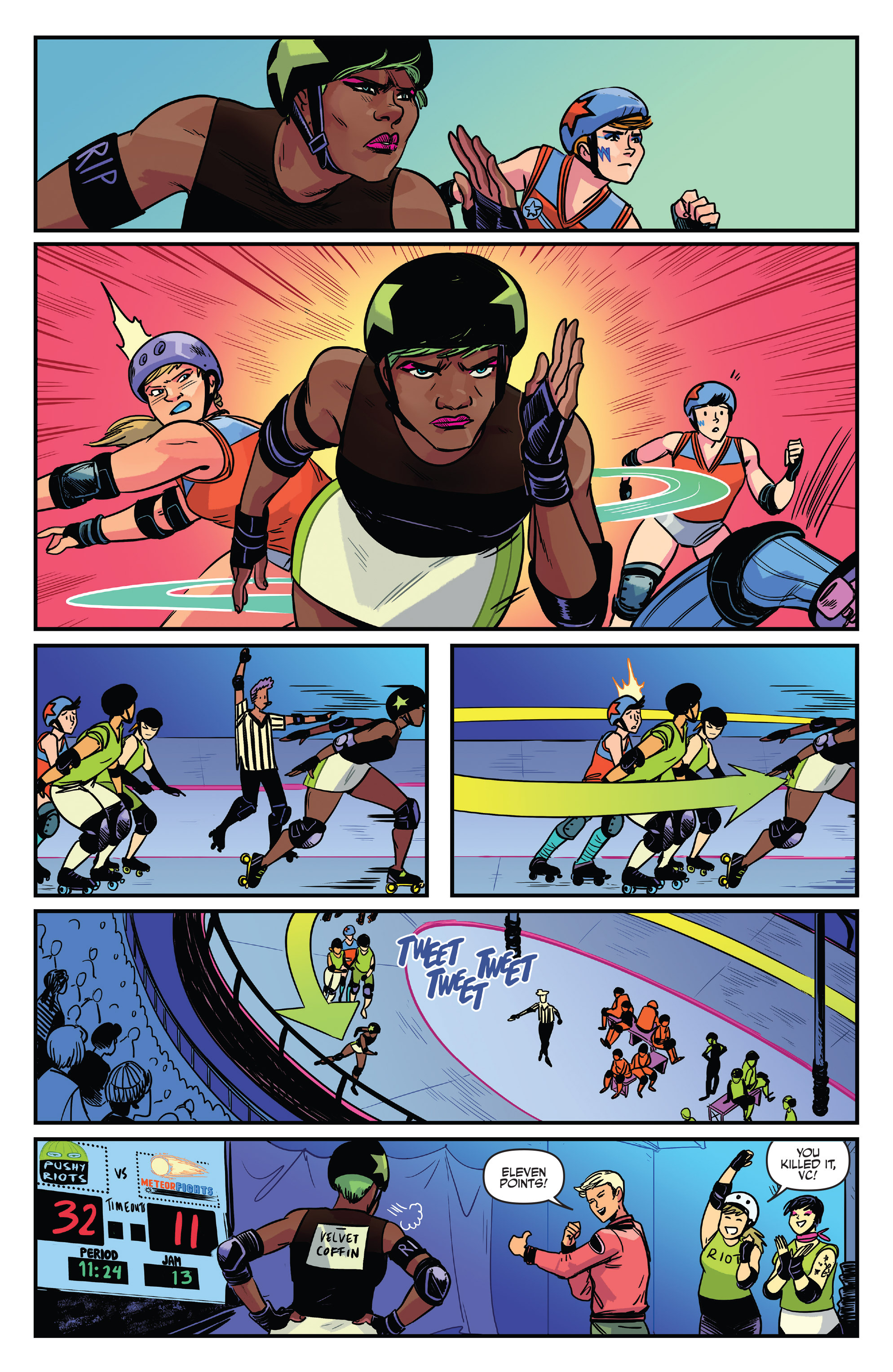 Read online Slam! comic -  Issue #4 - 14